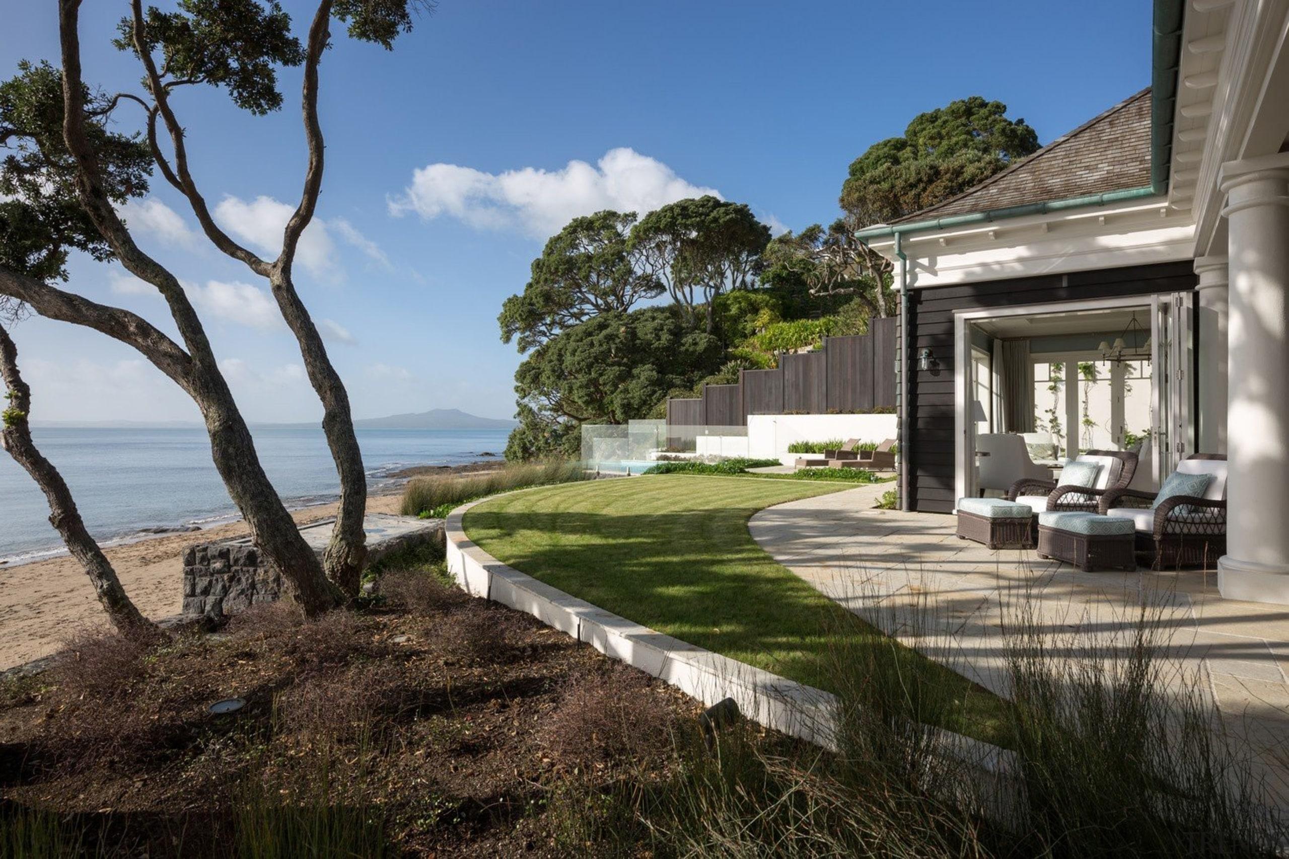 Exterior - architecture | cottage | estate | architecture, cottage, estate, home, house, landscape, property, real estate, villa, black, gray