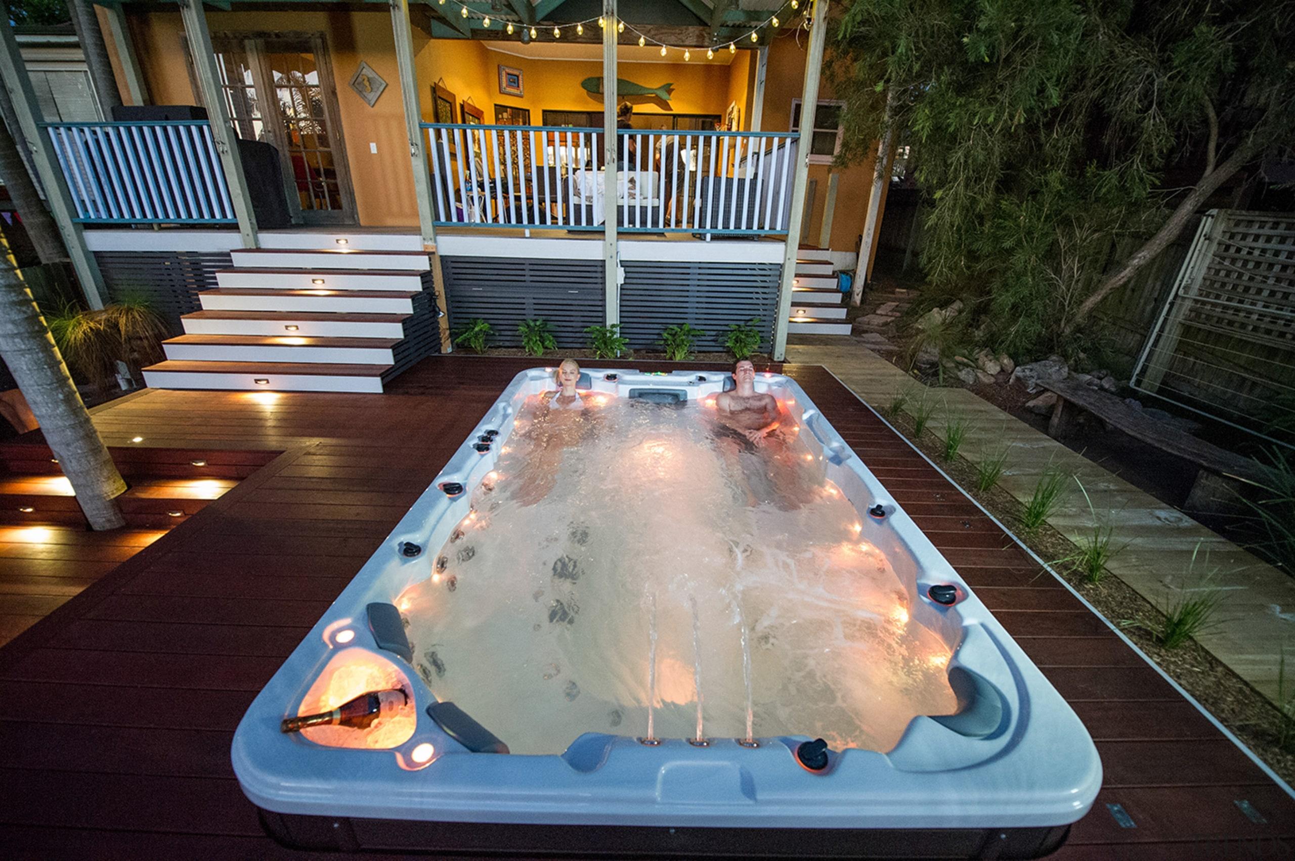 Oasis 064 - hot tub | jacuzzi | hot tub, jacuzzi, leisure, swimming pool, black