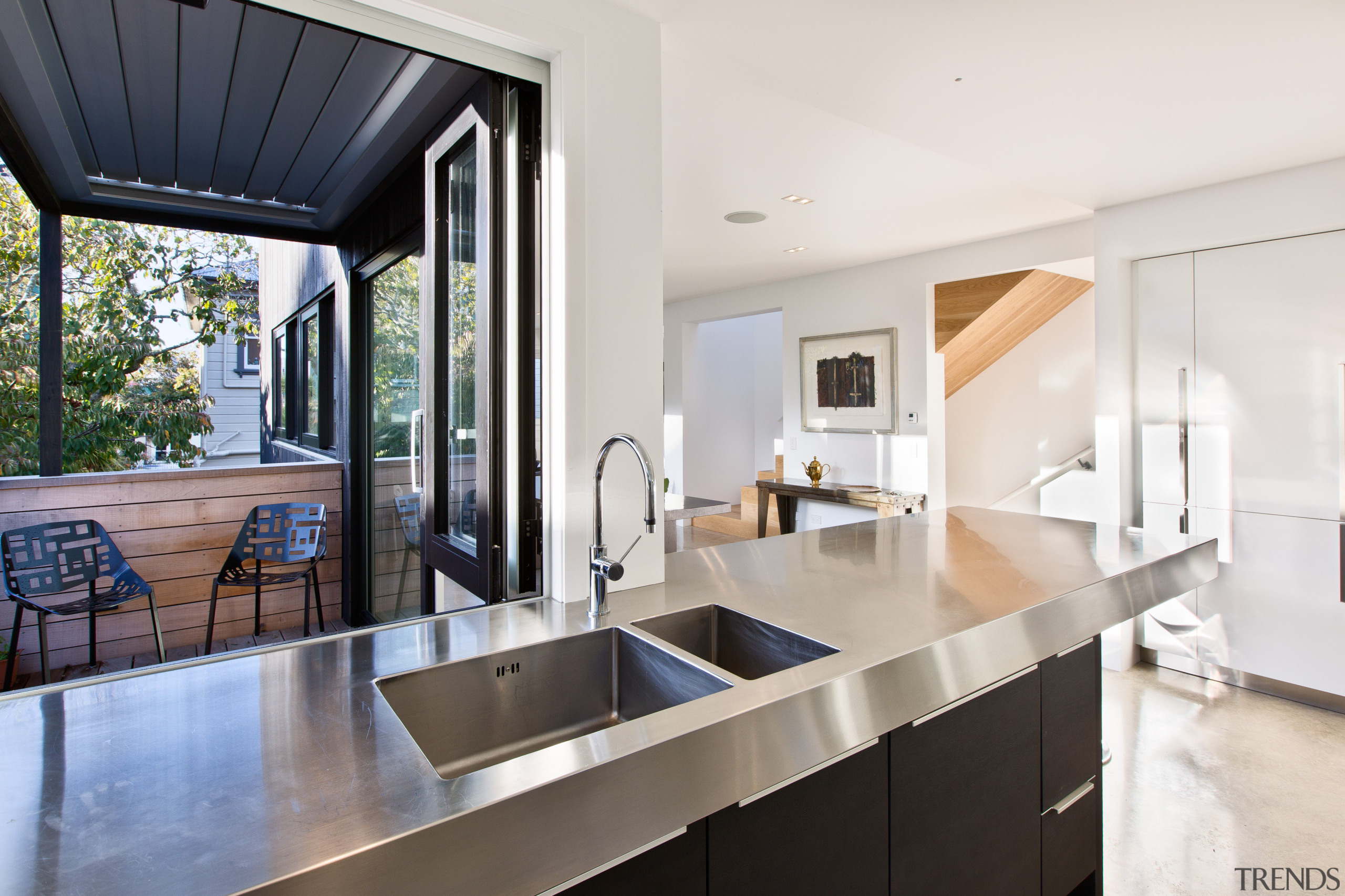 For this project, Milvia Hannah of German Kitchens architecture, countertop, house, interior design, kitchen, real estate, white