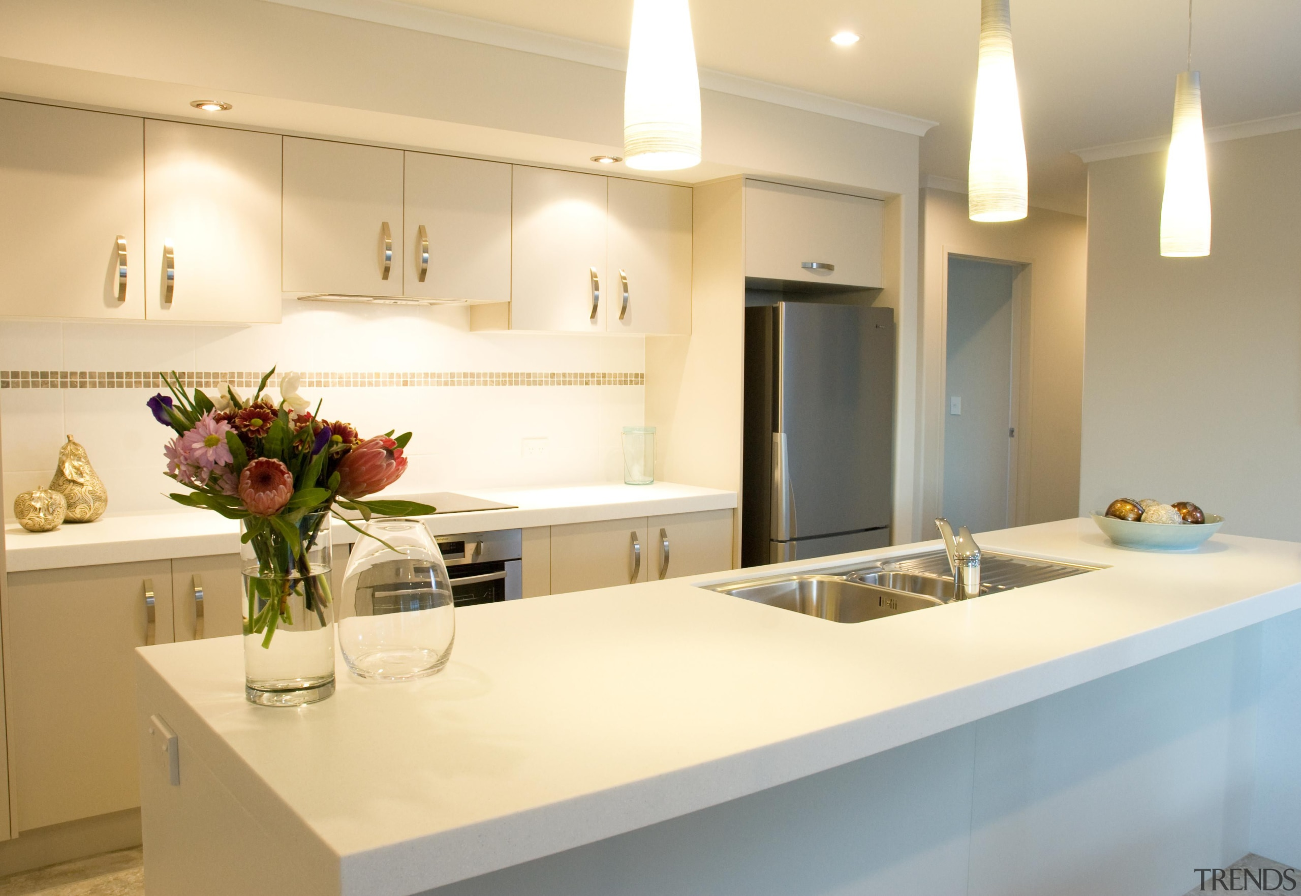 For more information, please visit www.gjgardner.co.nz countertop, interior design, kitchen, property, real estate, room, yellow, orange