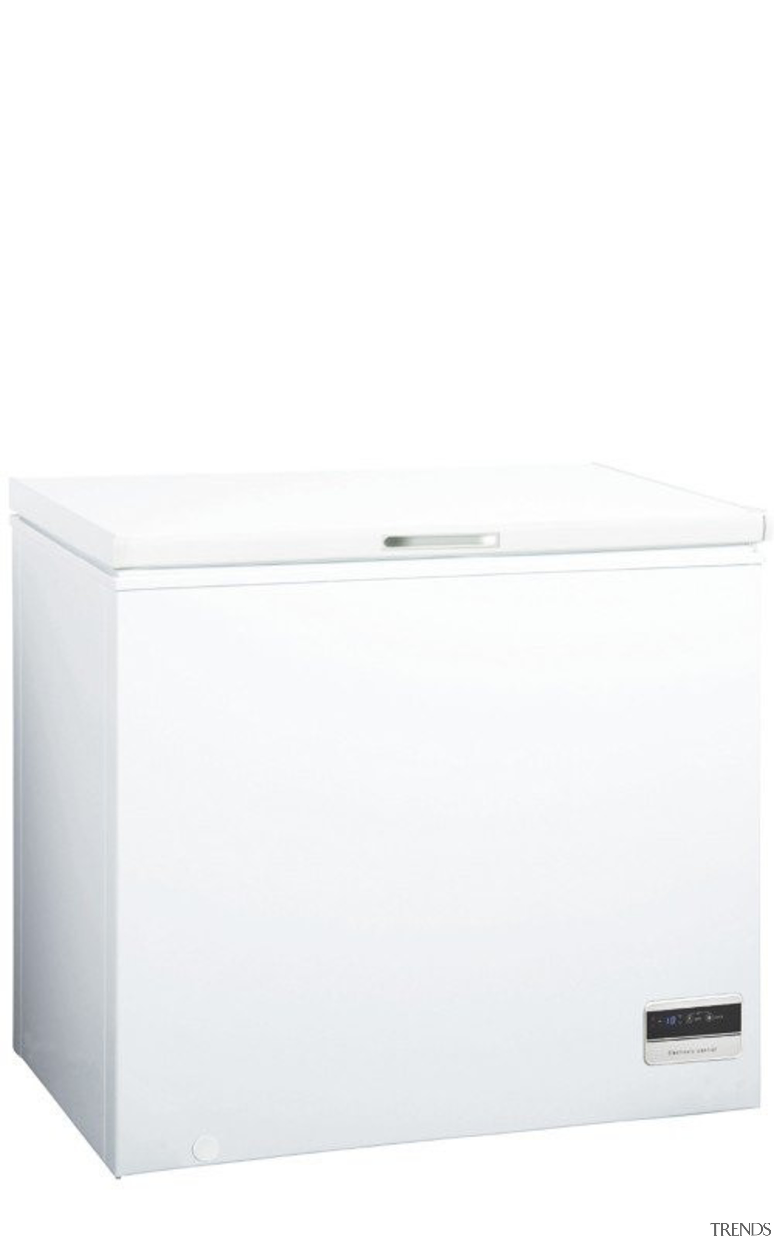 200L Chest FreezerGross Capacity: 200LDigital Control & Display drawer, furniture, product, product design, white