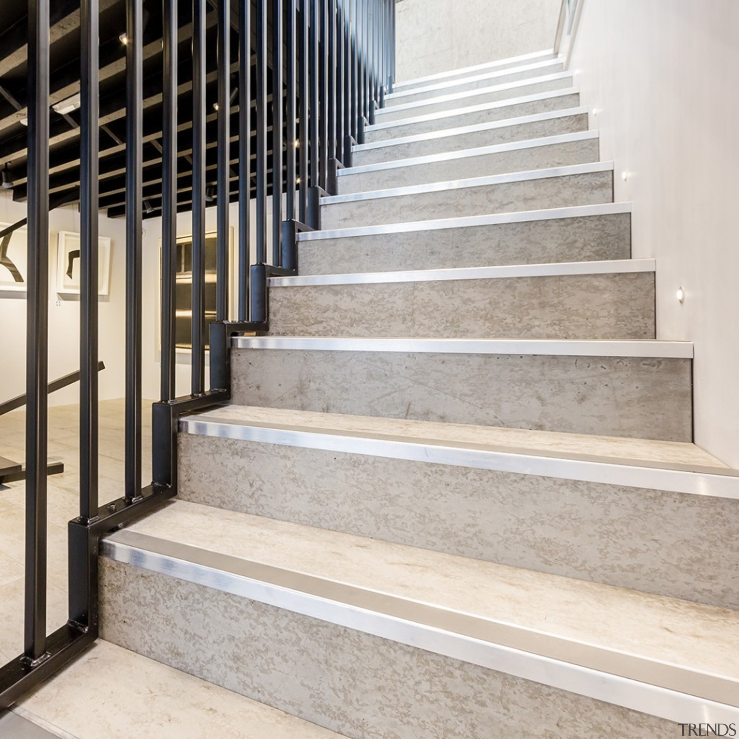 Concreate CF103 2 - Concreate_CF103_2 - architecture | architecture, floor, handrail, stairs, gray