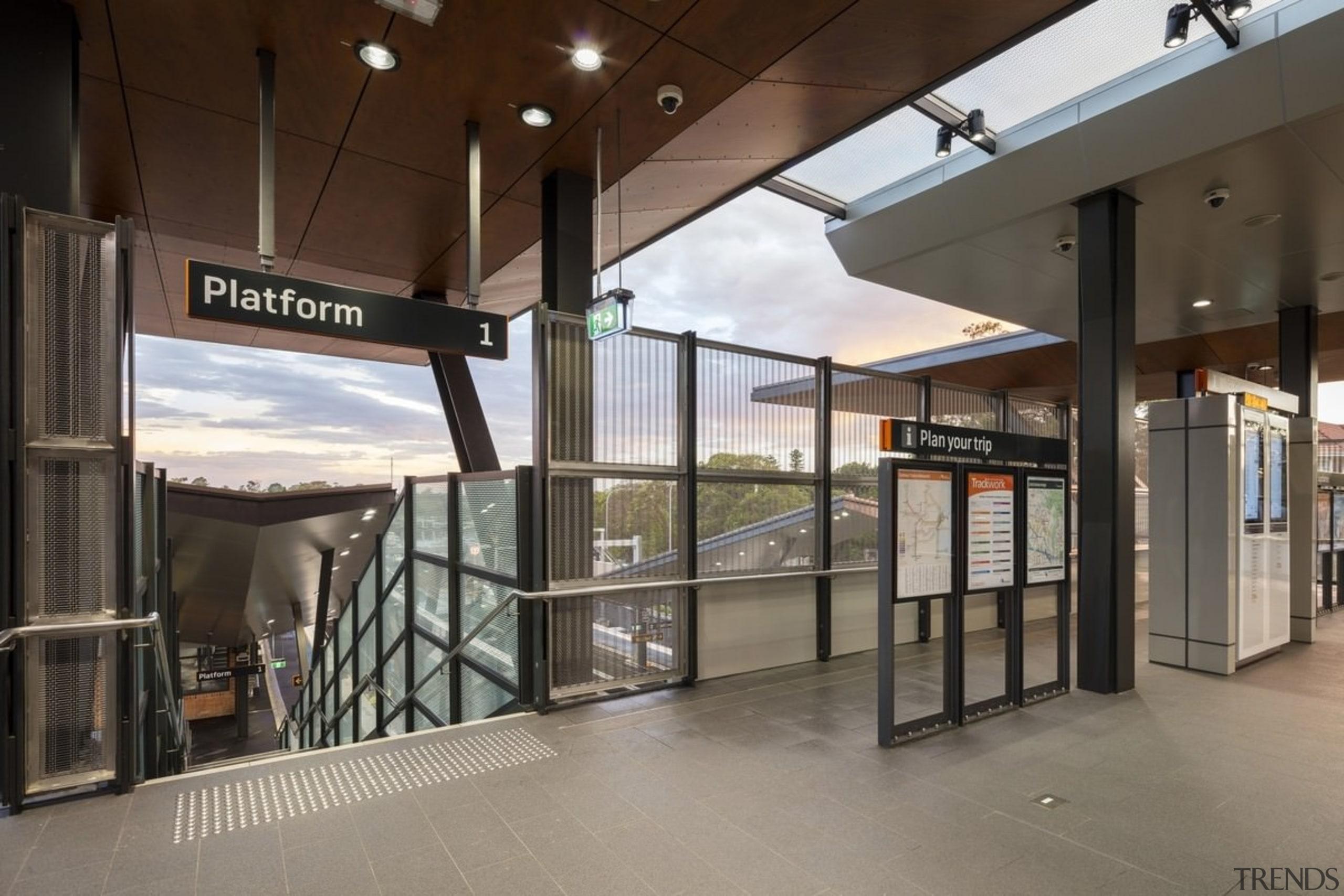 Cheltenham Station – Cox Architecture - Cheltenham Station glass, real estate, gray, brown