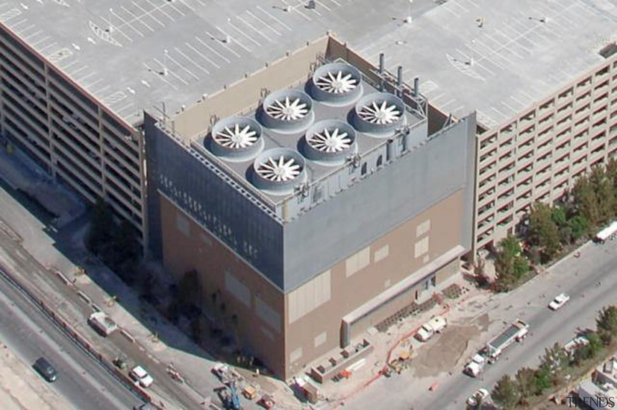 CityCenter, Las Vegas - CityCenter, Las Vegas - aerial photography, architecture, building, roof, gray