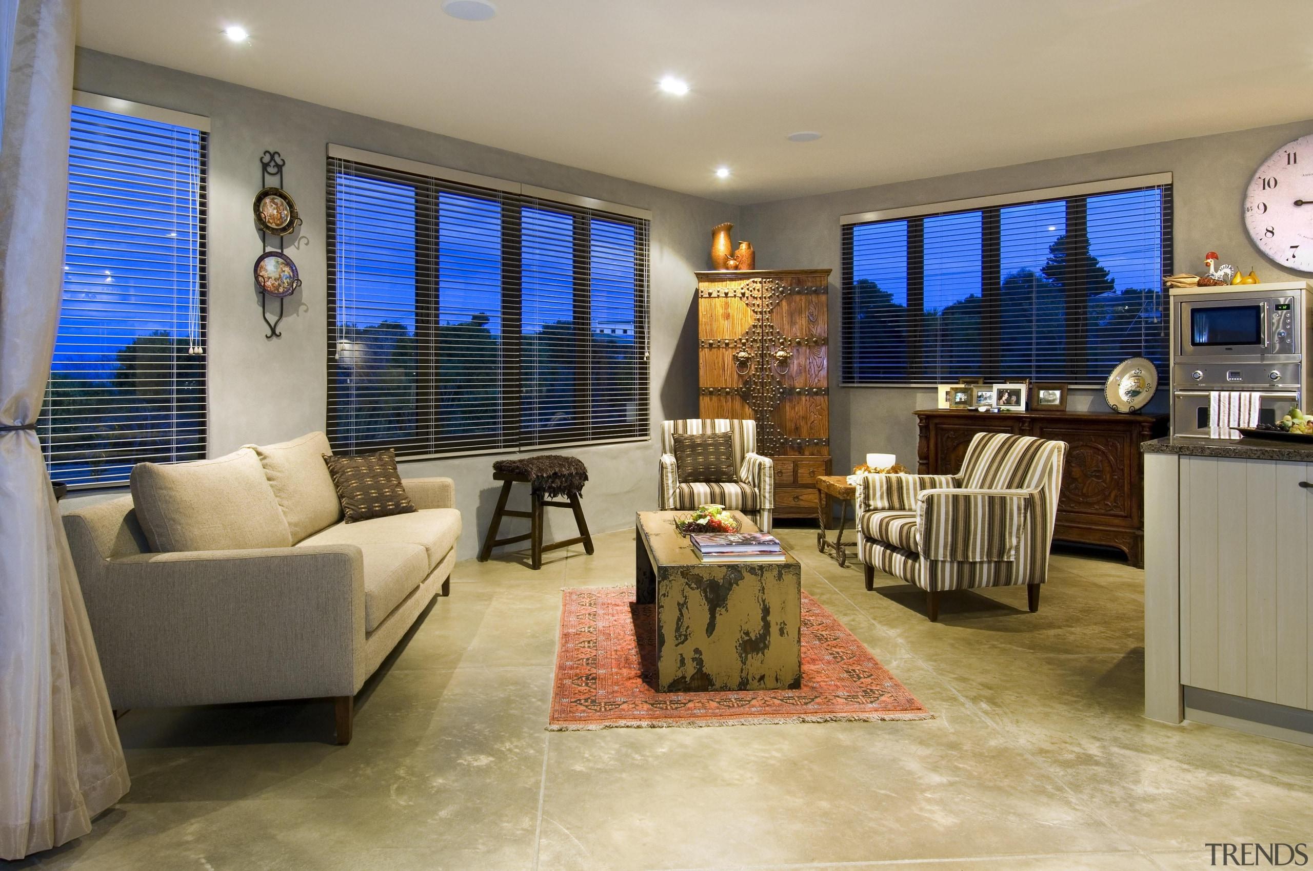 167mangawhai 9 - mangawhai_9 - estate | home estate, home, interior design, living room, property, real estate, room, orange, brown