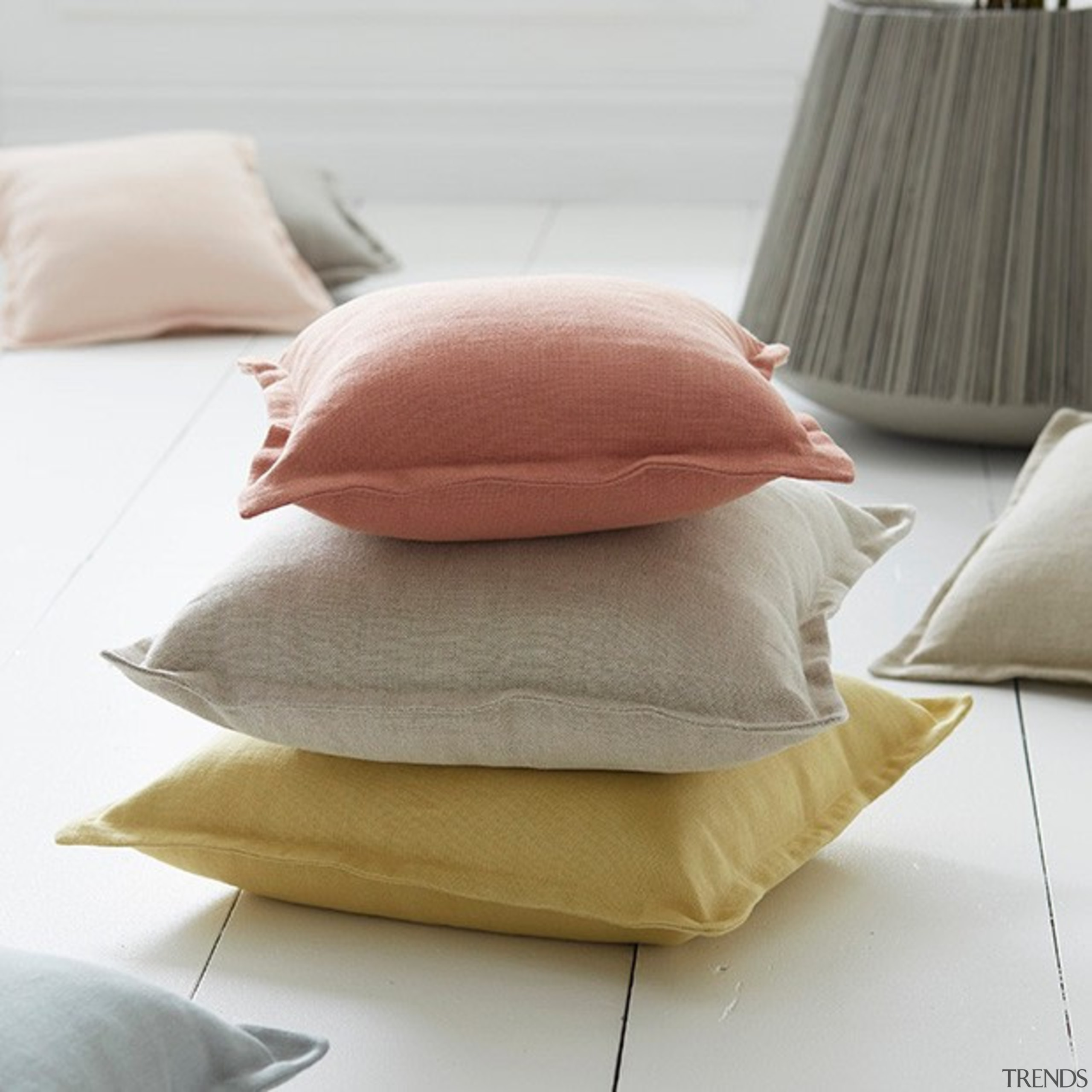 HAVEN 04 - cushion | pillow | white cushion, pillow, white, gray