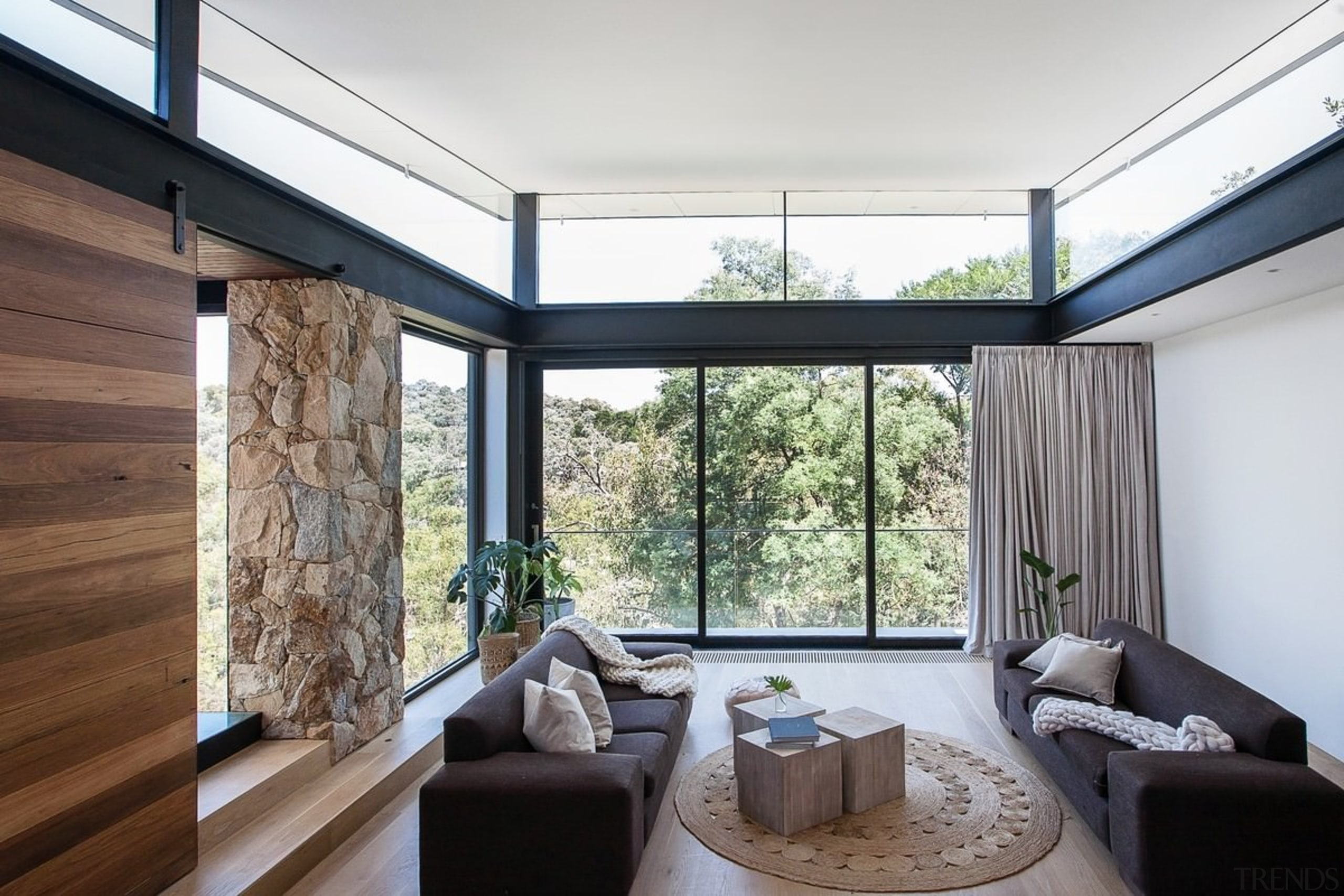 Architect: Alexandra Buchanan ArchitecturePhotography by Debra McFadzean architecture, ceiling, daylighting, house, interior design, living room, property, real estate, window, white