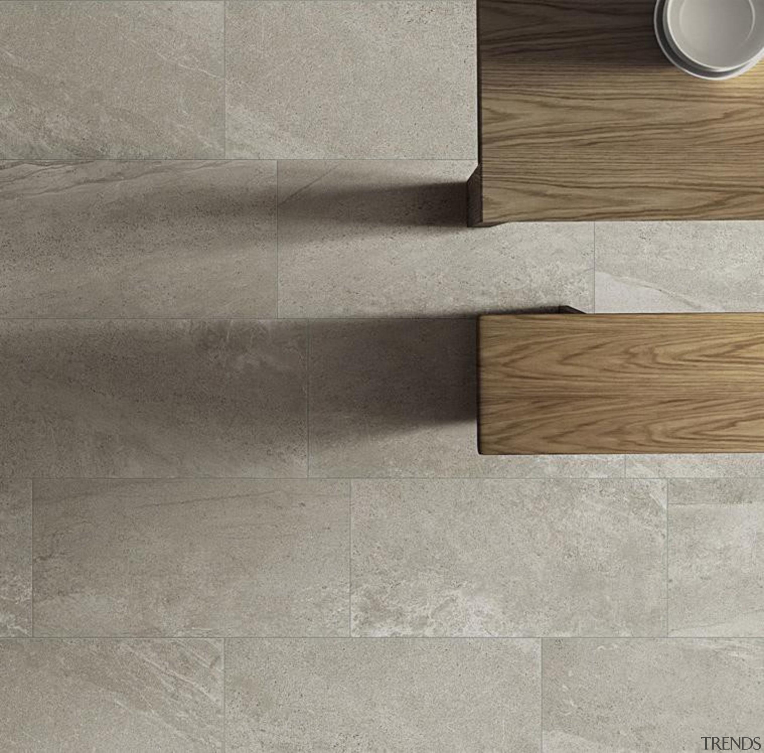 Blendstone pepper interior floor tiles - Blendstone Range floor, flooring, product design, tile, wall, wood, gray