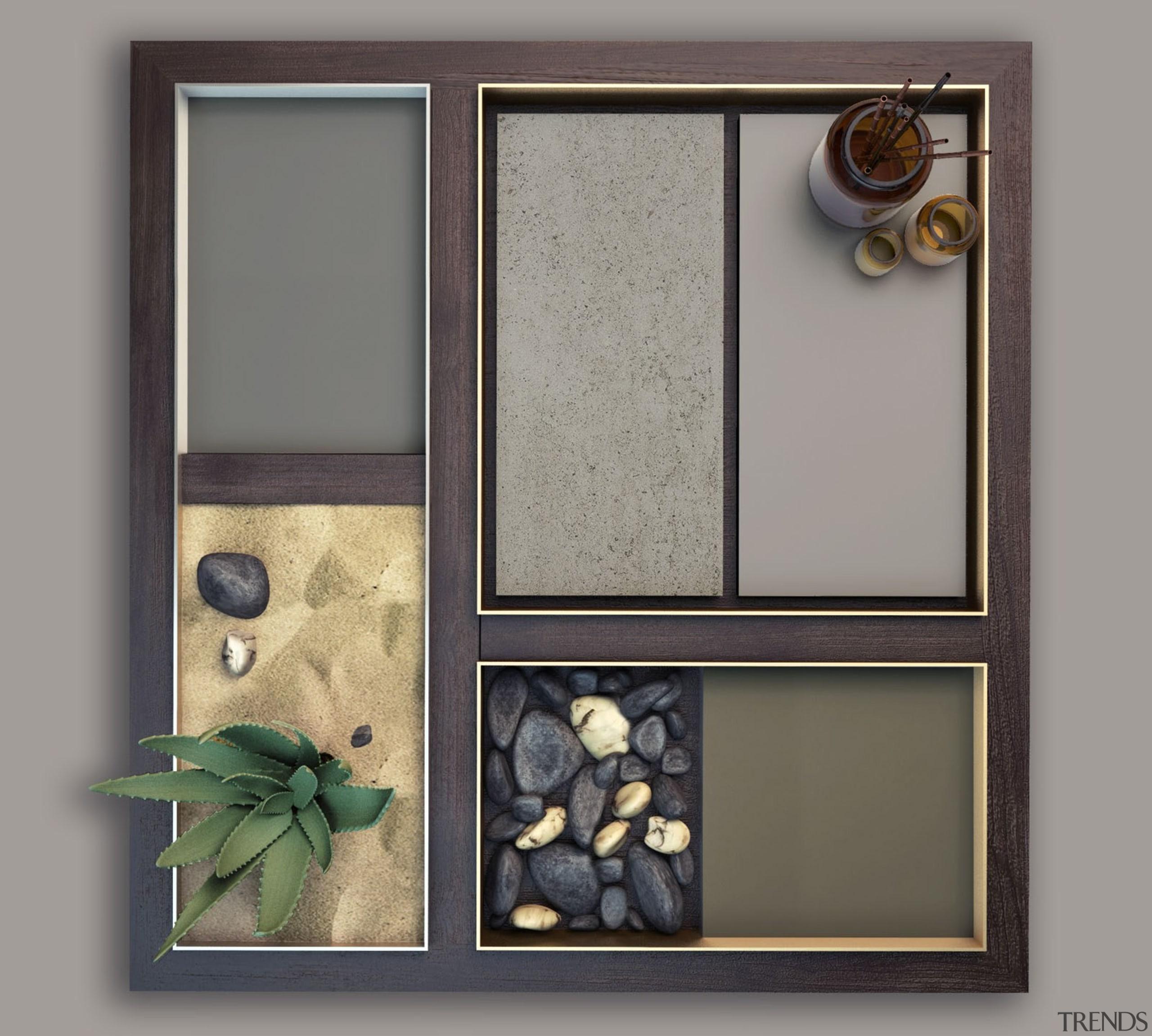 Ventus Korus Keon Galema - Ventus Korus Keon picture frame, window, gray