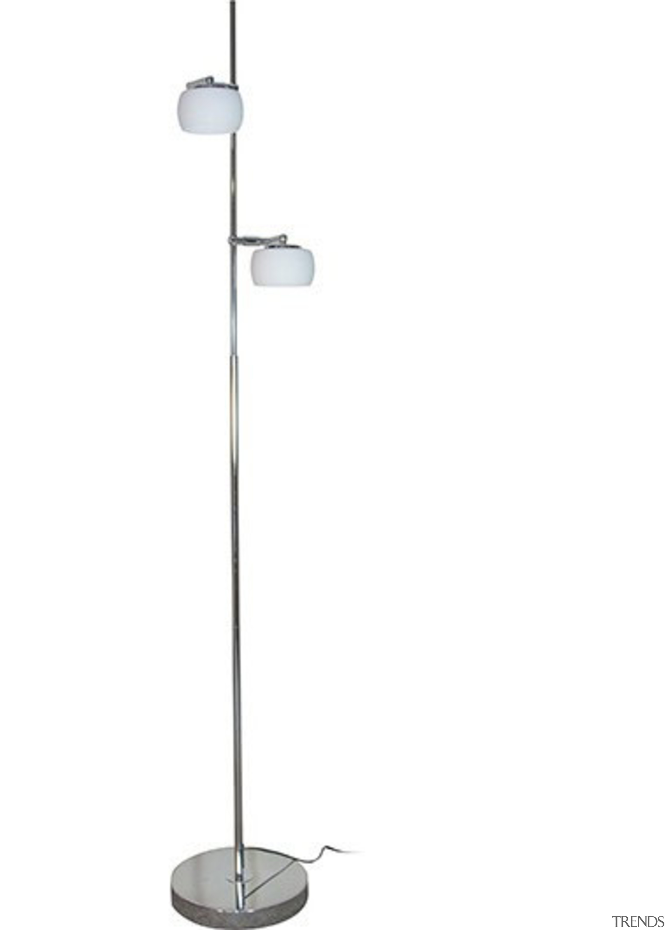 FeaturesThe Elly LED floor lamp is a stylish light fixture, lighting, product design, white