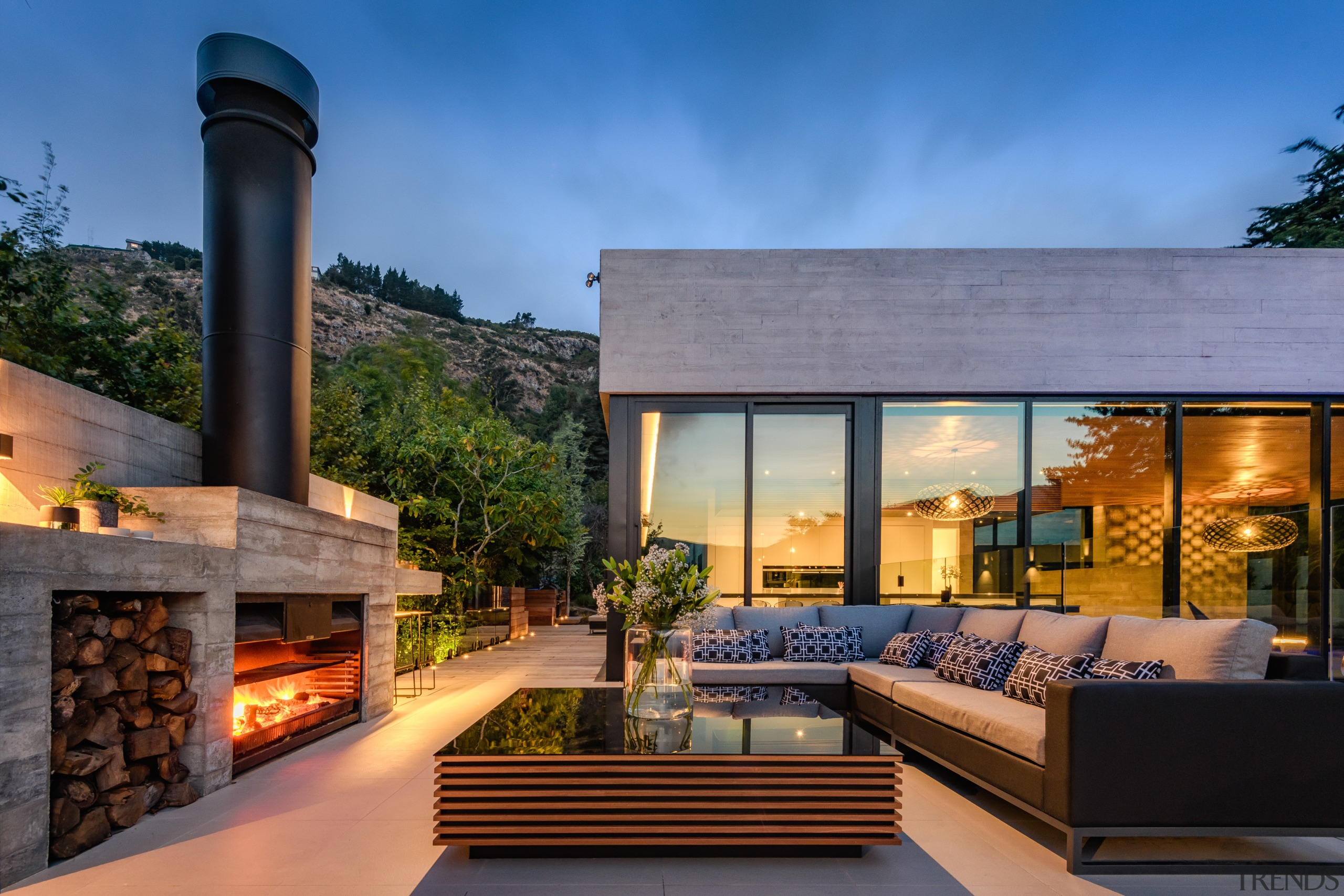 Together with the home and pool, even the architecture, backyard, building, design, estate, facade, home, house, interior design, landscape, landscaping, living room, mansion, mixed-use, patio, property, real estate, residential area, roof, room, sky