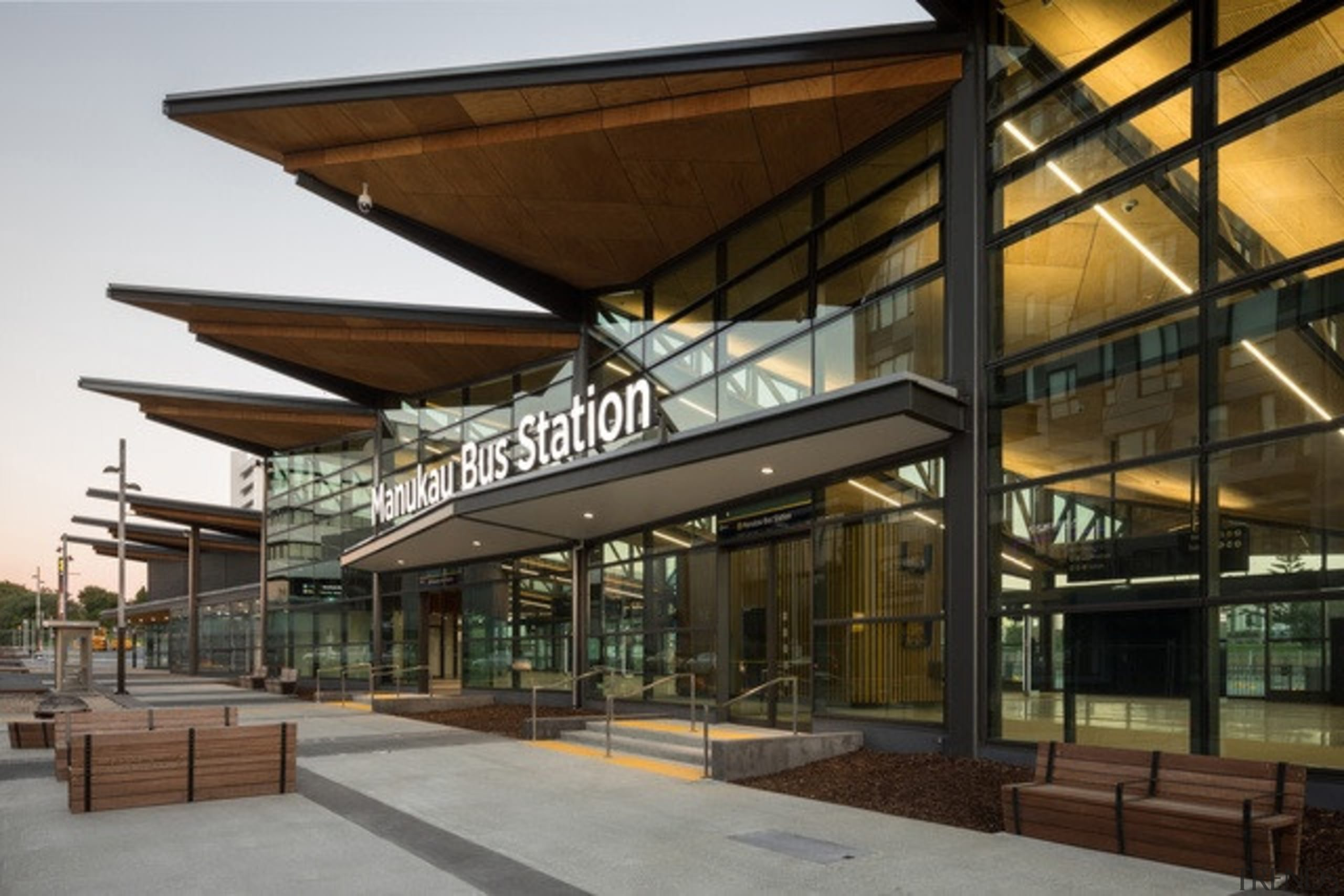 Manukau Bus Station (Auckland) by BecaArchitects – architecture, condominium, mixed use, real estate, brown