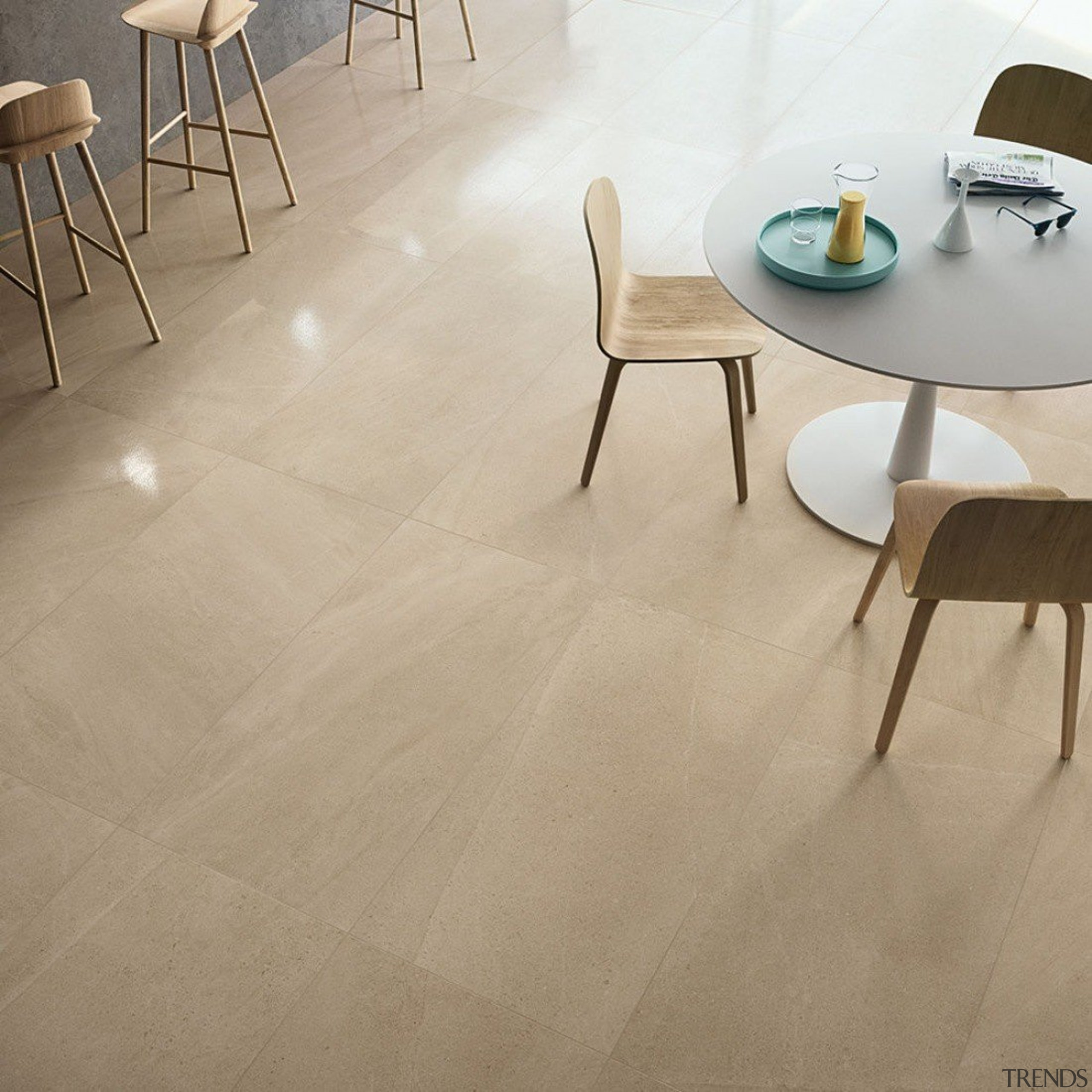 Limestone - chair | floor | flooring | chair, floor, flooring, furniture, hardwood, interior design, laminate flooring, product design, table, tile, wood, wood flooring, orange, brown