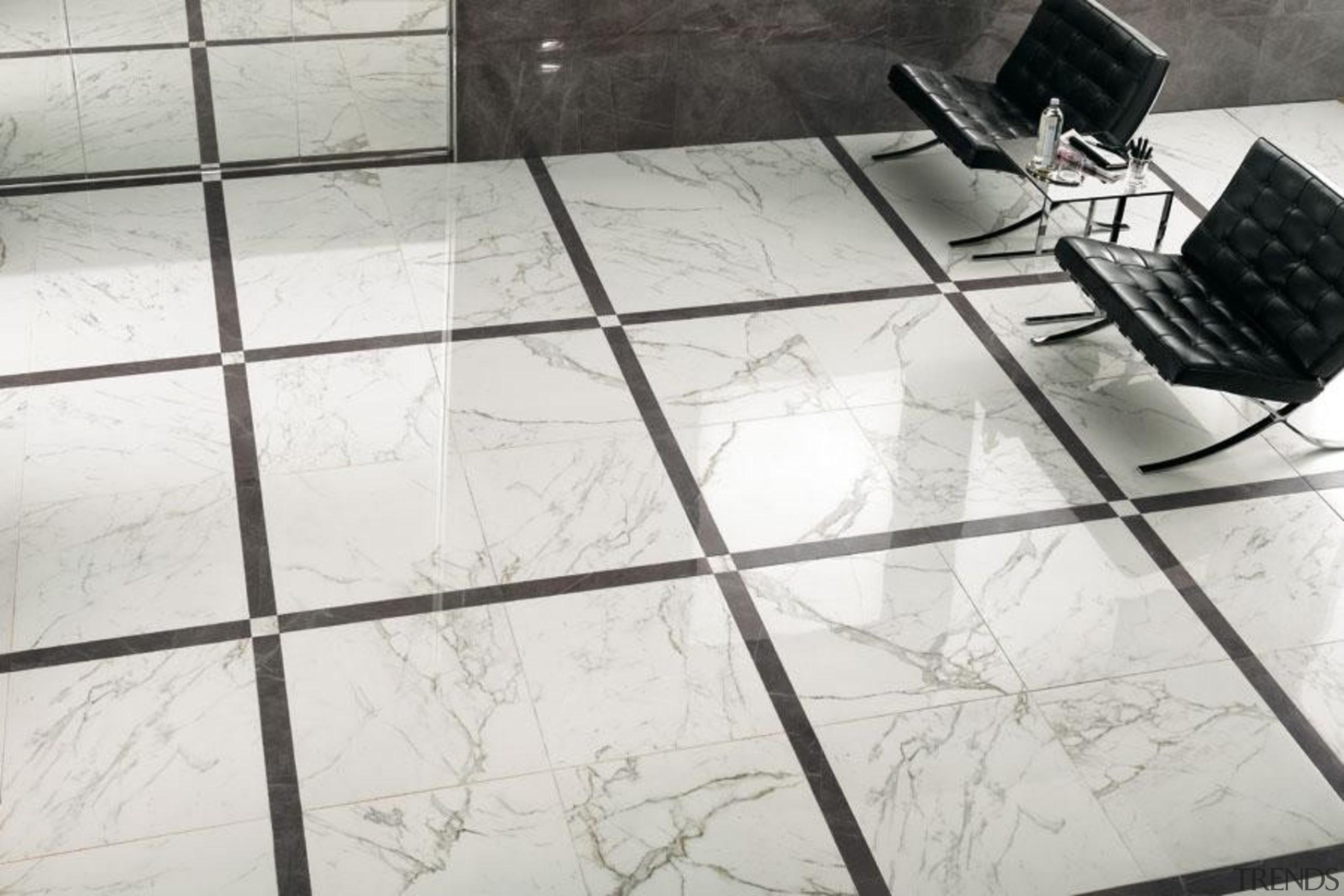 Calacatta interior floor tiles - Cb 4141375049973260 - floor, flooring, product design, table, tile, white, gray