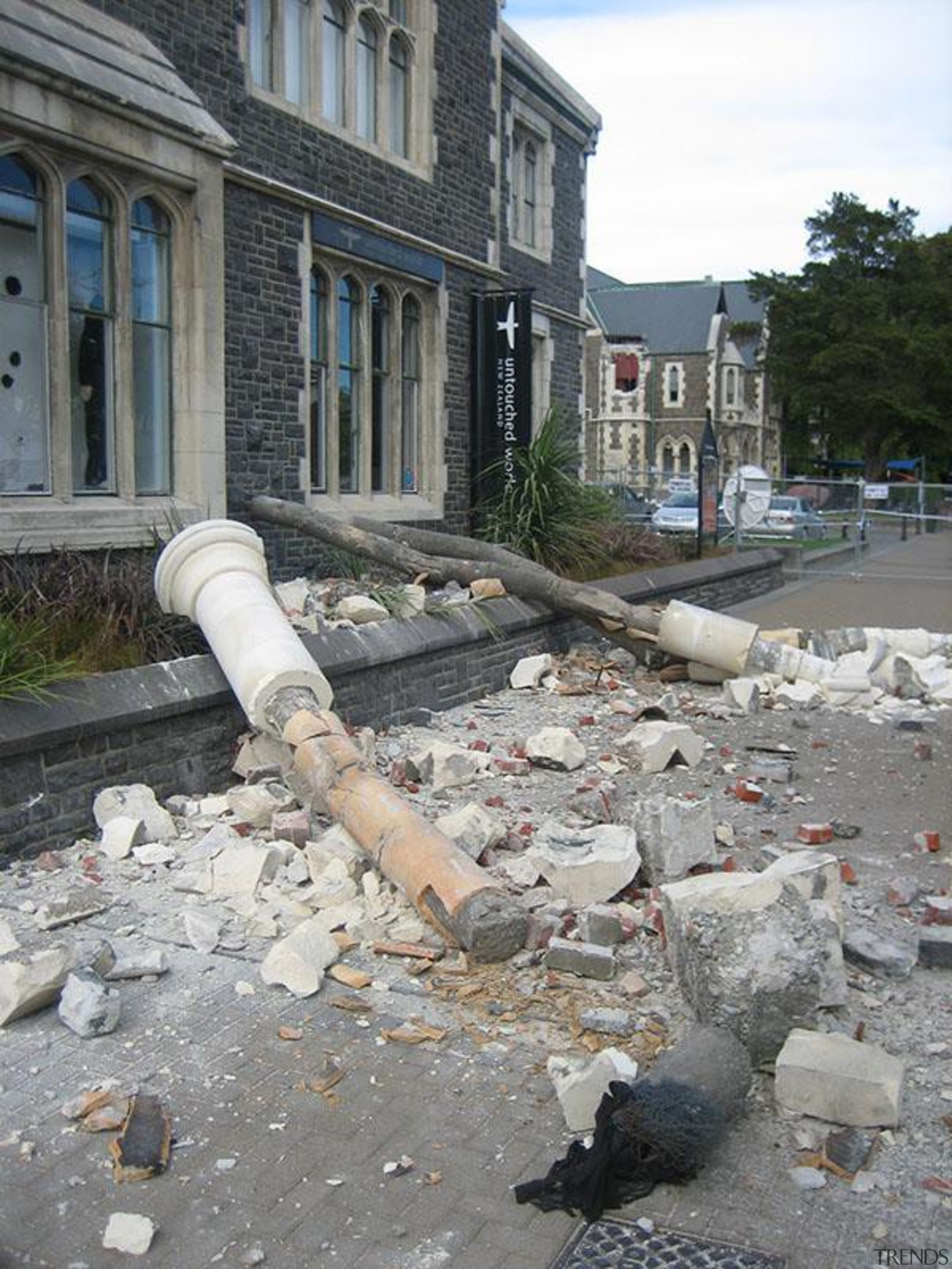 NOMINEERegistry Building (1 of 4) - Hays Commercial road surface, rubble, walkway, gray