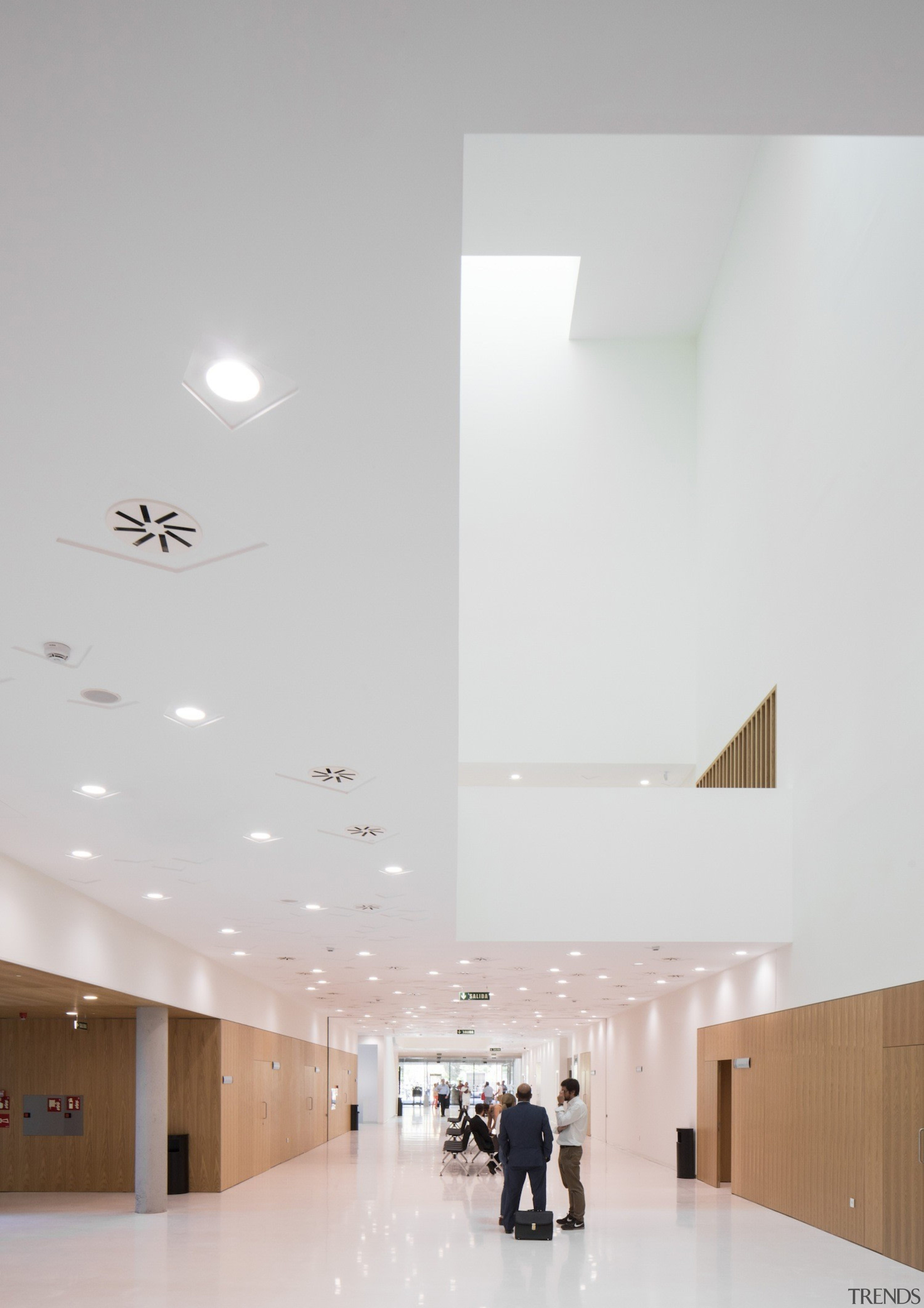 Palace of Justice building | Mecanoo + Ayesa architecture, ceiling, daylighting, floor, house, interior design, product design, gray