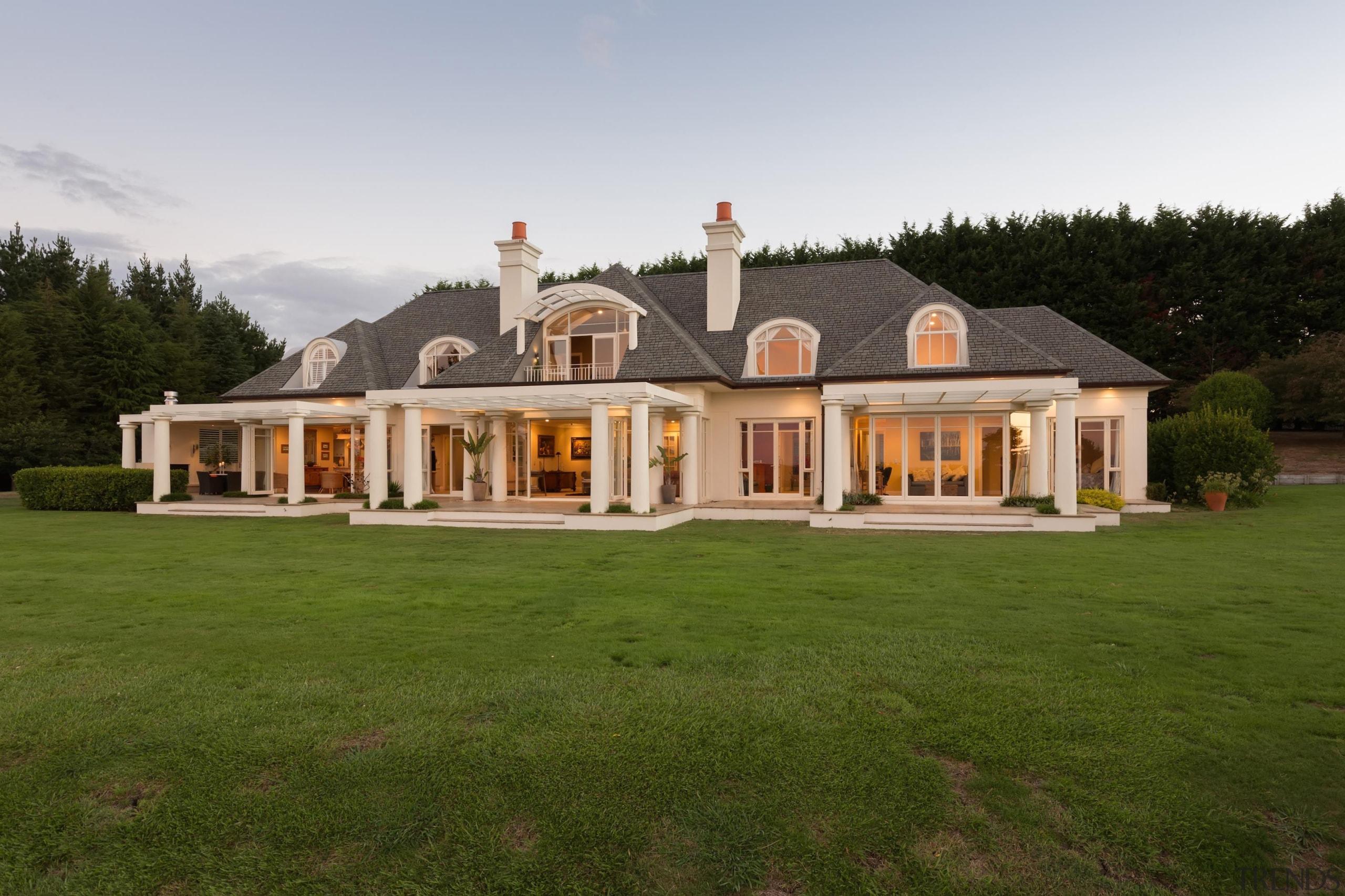 Whitford 9 - cottage   elevation   estate cottage, elevation, estate, facade, farmhouse, home, house, mansion, property, real estate, villa, brown, white