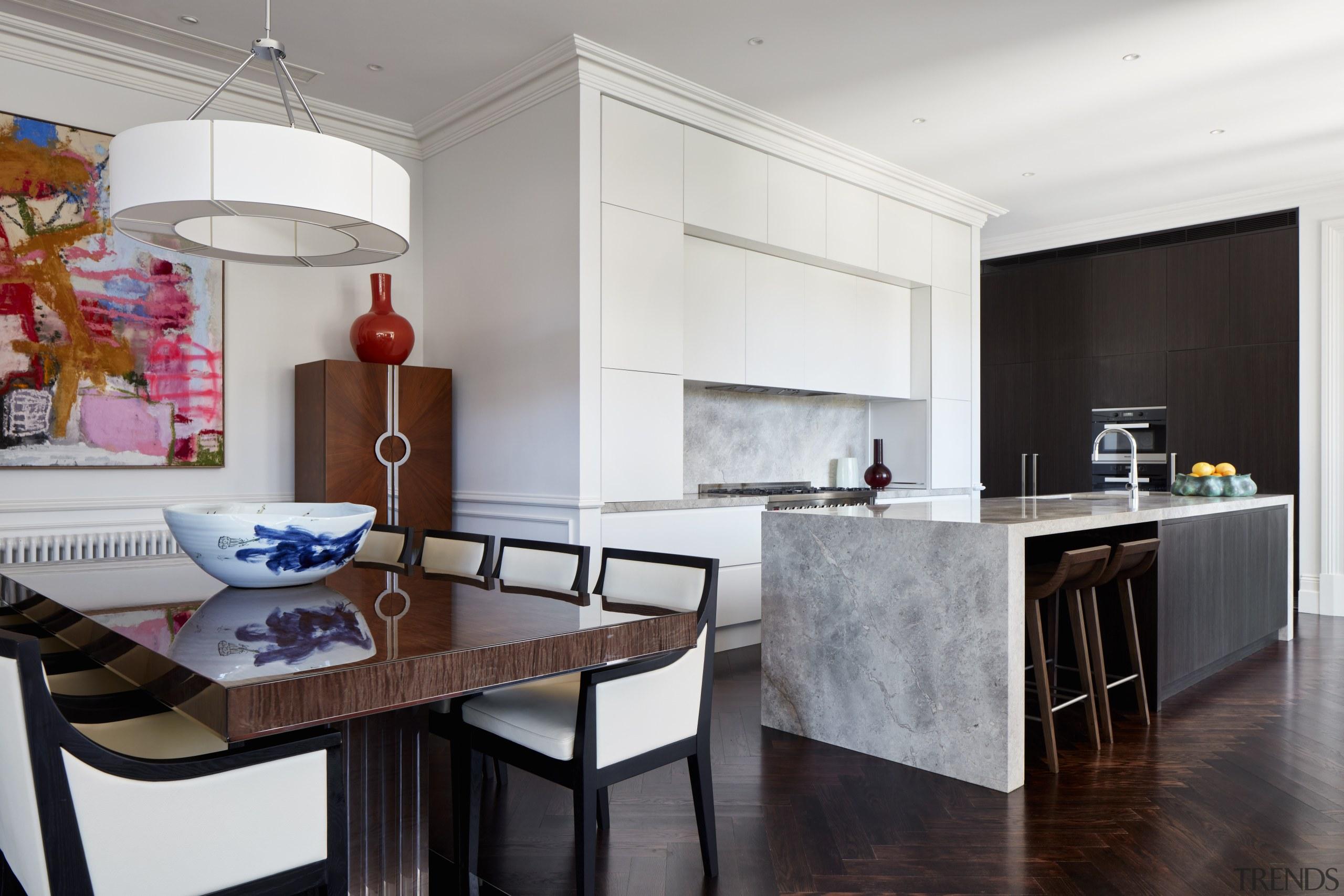 Highly Commended – Archer Design – 2018 TIDA countertop, interior design, kitchen, real estate, room, gray, white, black