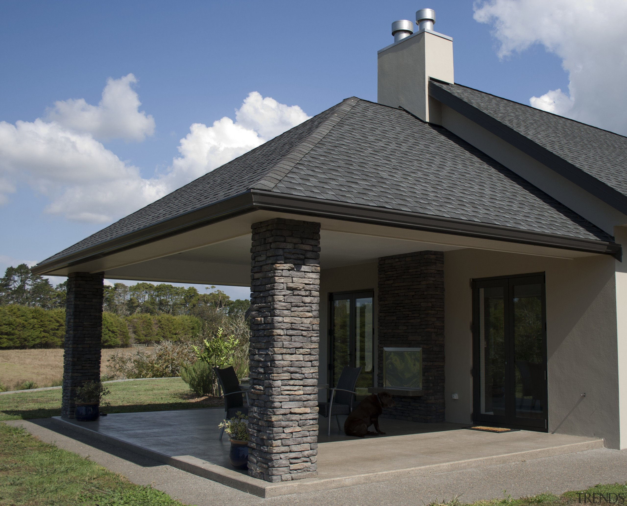 Ledgestone by Stutex Stone - Ledgestone by Stutex facade, home, house, outdoor structure, real estate, roof, siding, gray, black