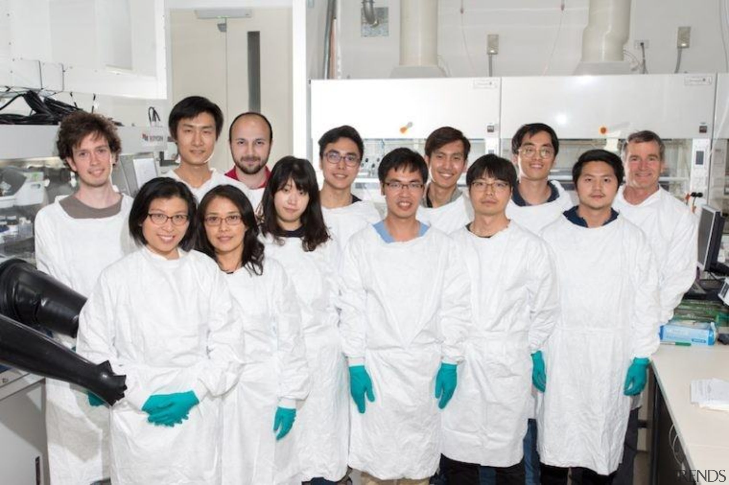 Dr Anita Ho-Baillie and her team - Dr biomedical scientist, chemist, chemistry, healthcare science, institution, laboratory, medical research, profession, professional, research, researcher, service, team, white
