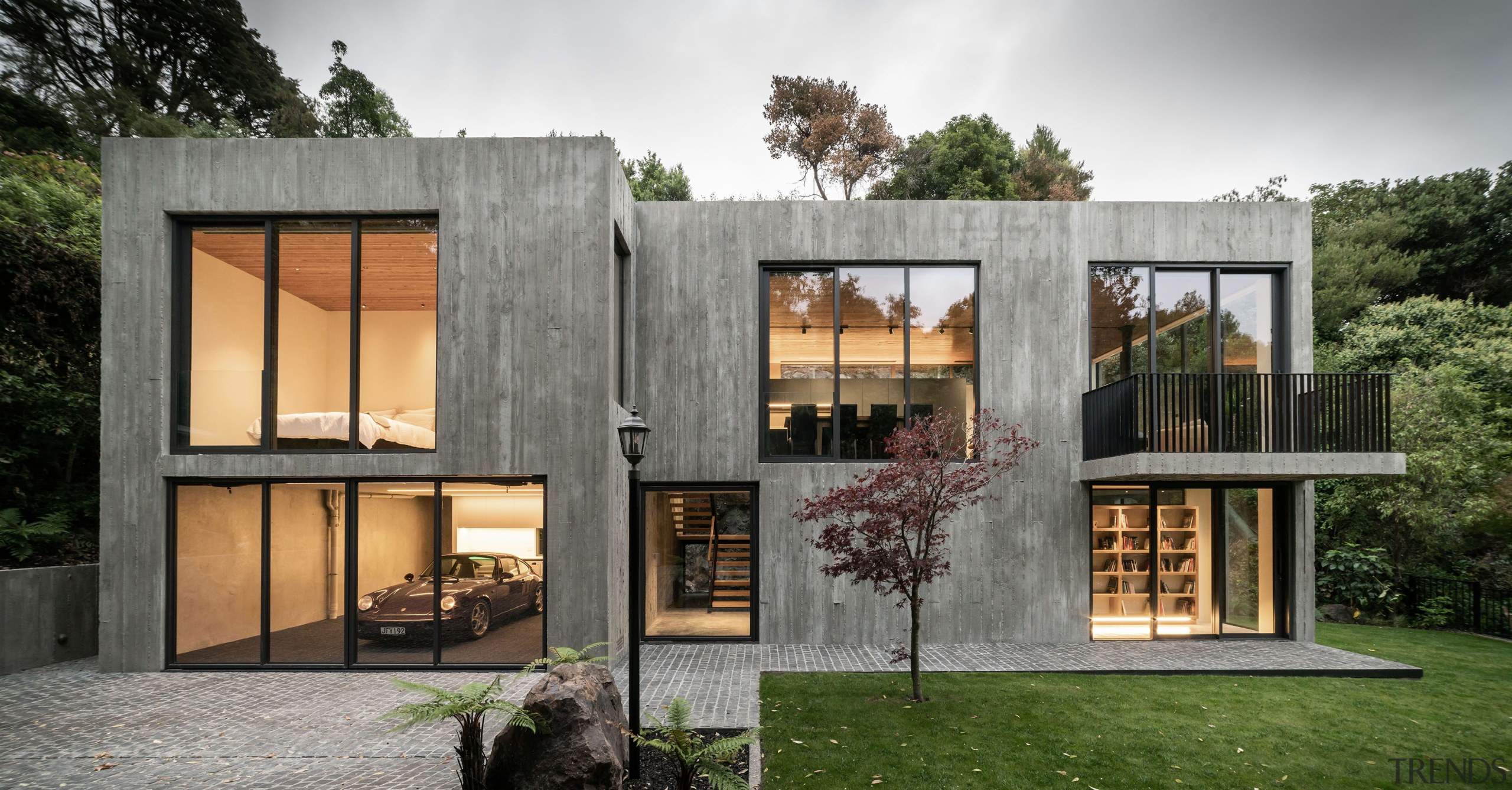 For this house by AO Architecture, the substantial