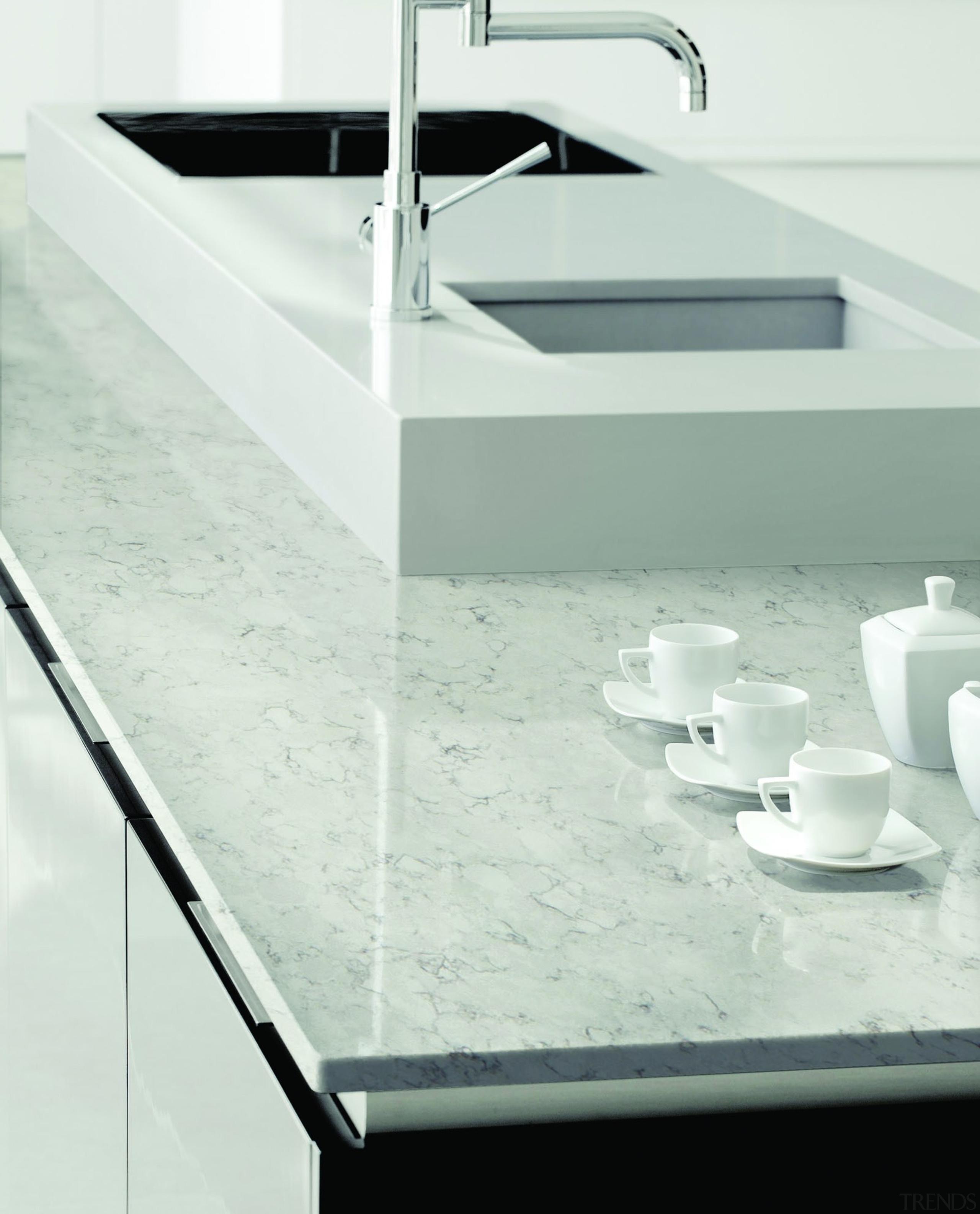 Blanco Orion - SV Cosentino Latina 026 B bathroom sink, countertop, floor, product design, sink, tap, white