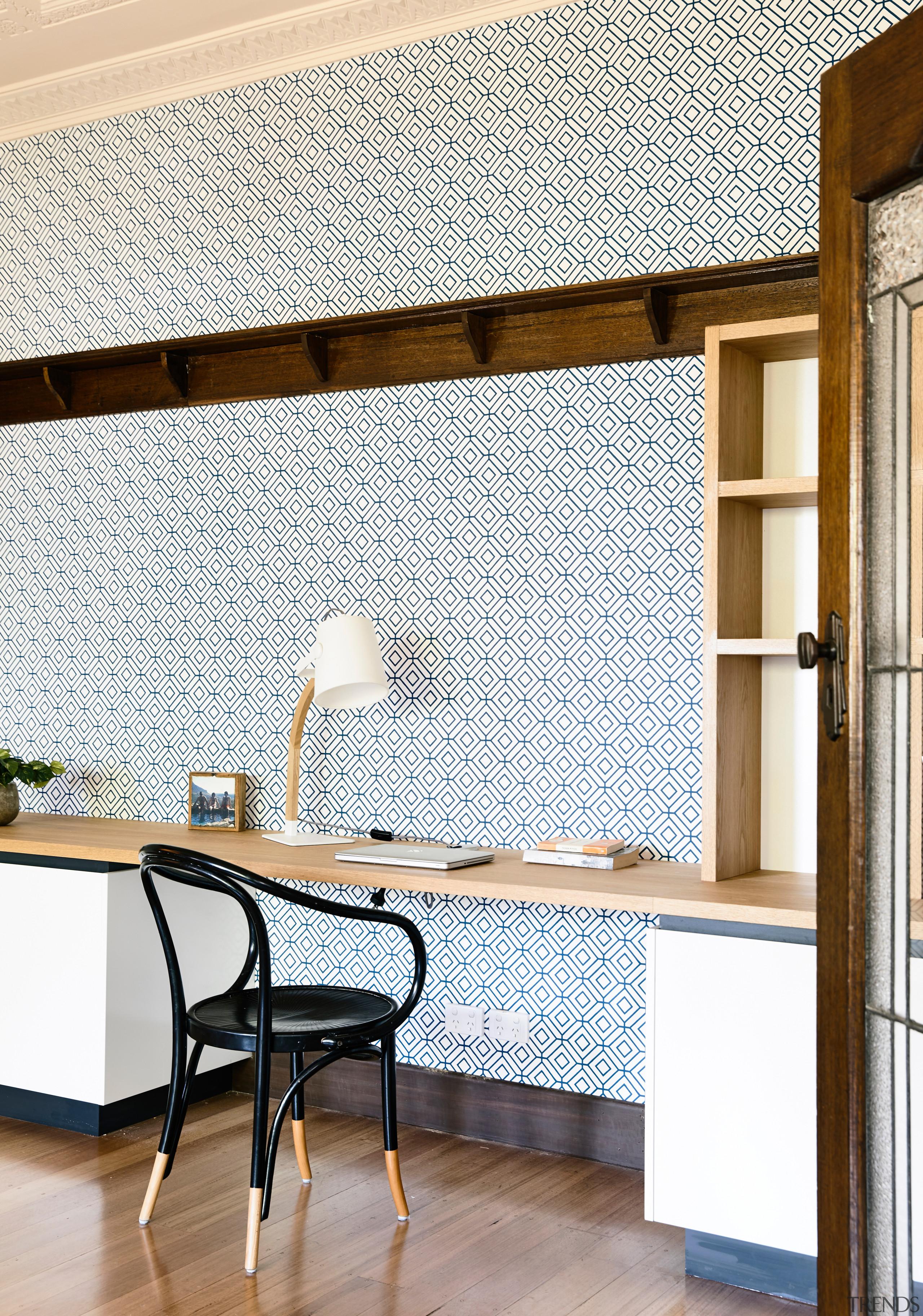 Nz3405Porter–280877931 20 - architecture | floor | flooring architecture, floor, flooring, furniture, home, interior design, shelf, shelving, table, tile, wall, wood, white
