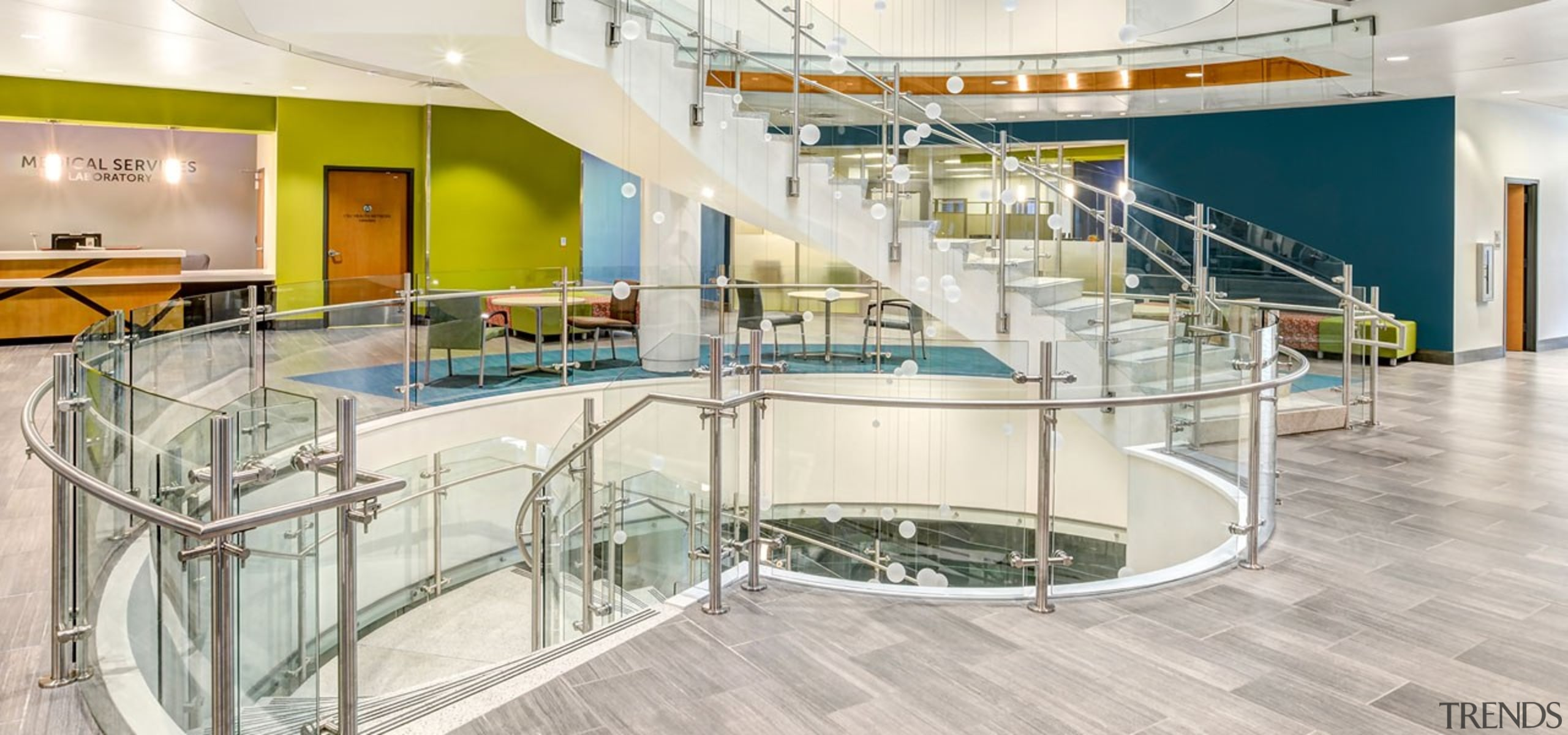 Colorado State University5 - architecture | building | architecture, building, daylighting, floor, glass, handrail, interior design, leisure centre, metal, property, real estate, room, stairs, white
