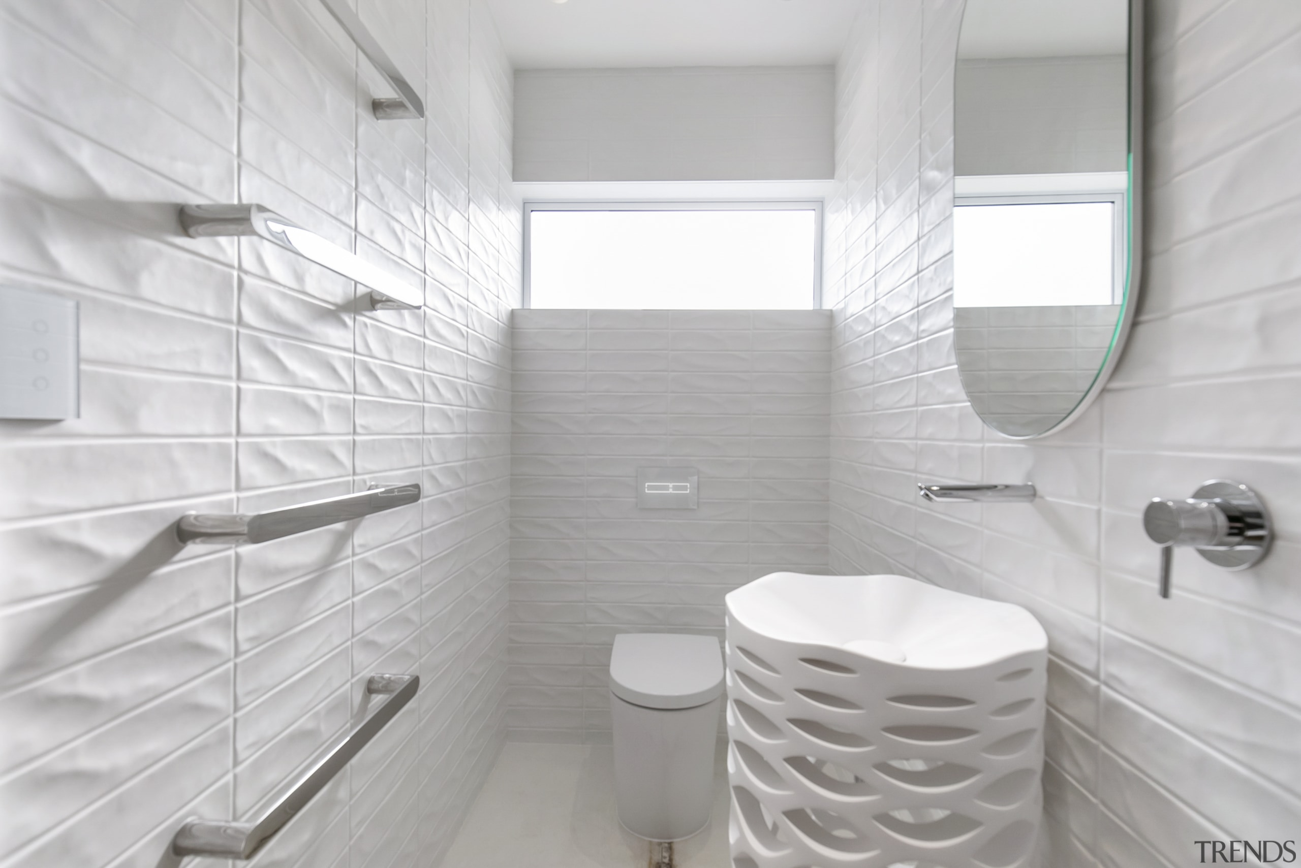 The tiles offer much more than a pristine
