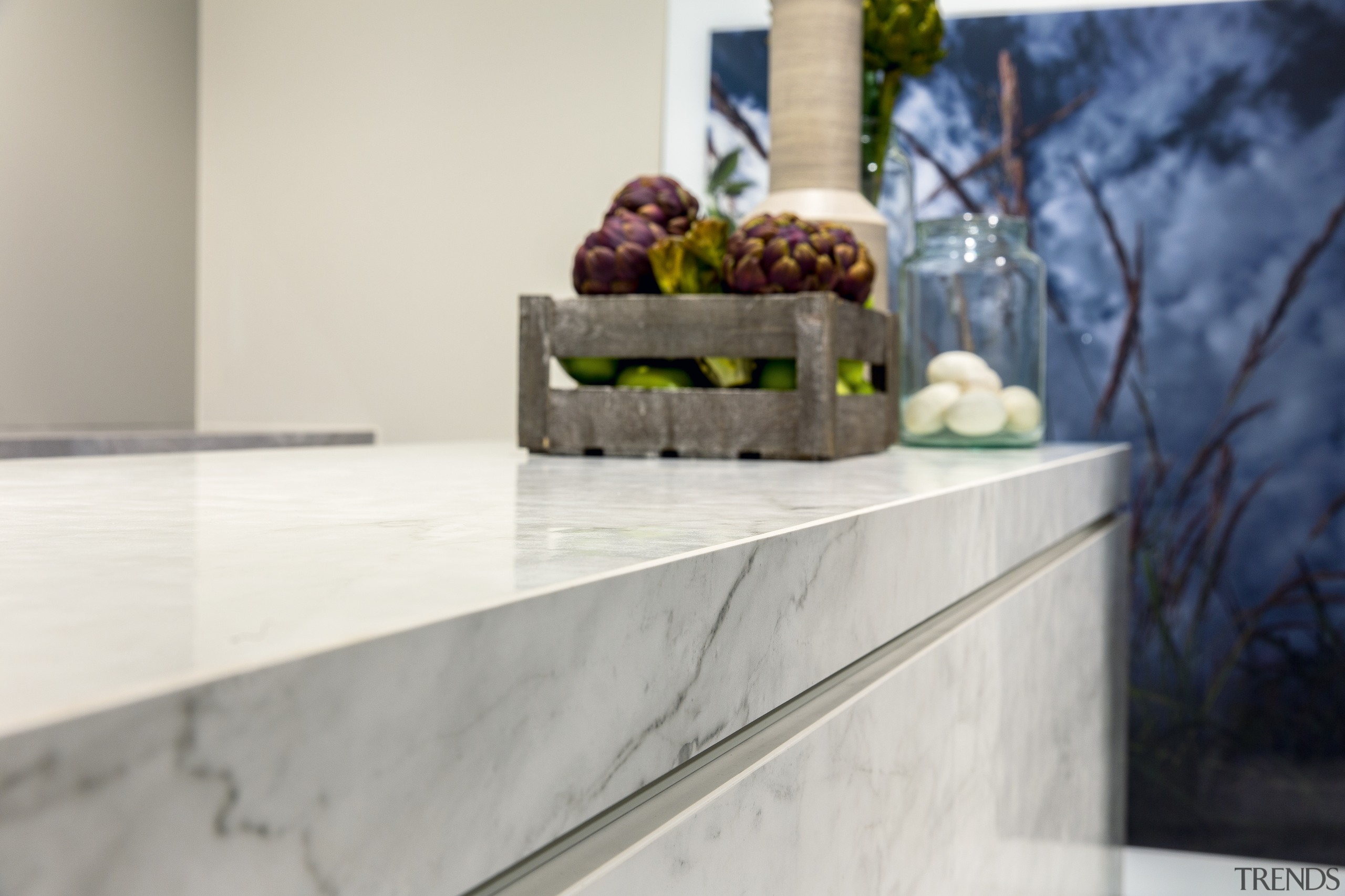 The refined look of marble but without the countertop, home, interior design, Kitchen benchtop, Florim Stone, Archant