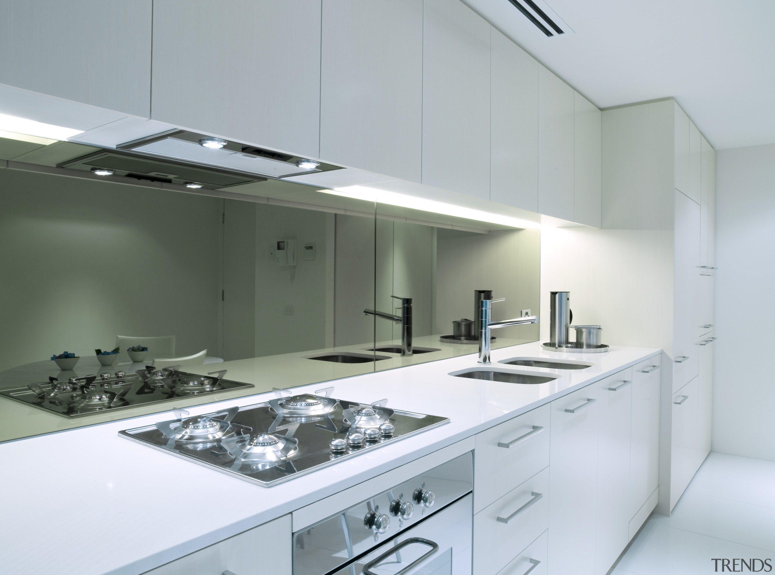A view of a kitchen with some Omega architecture, countertop, glass, interior design, kitchen, product design, gray