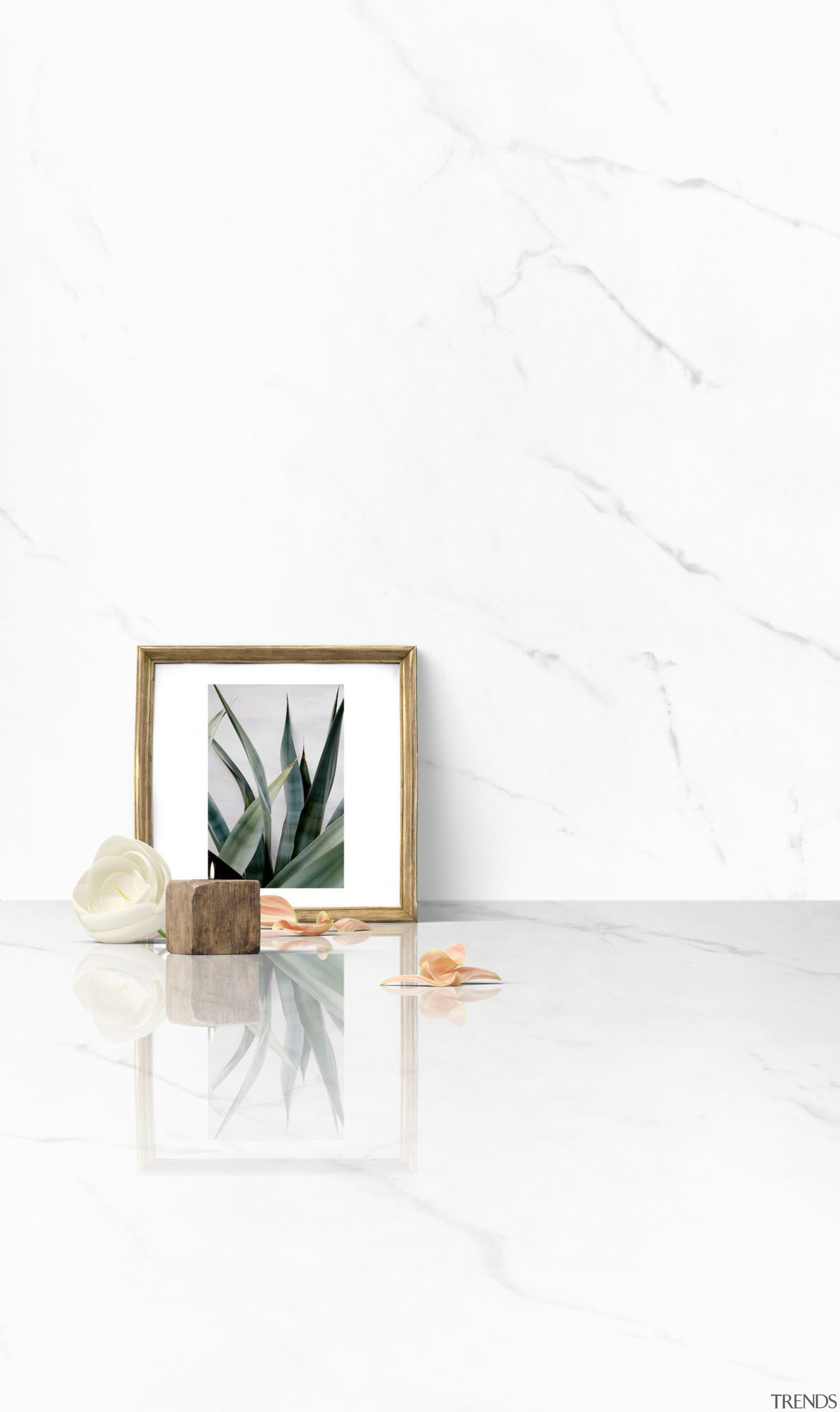 Compo Tundra Dekton XGloss Natural (LR) - Compo product design, still life photography, table, white