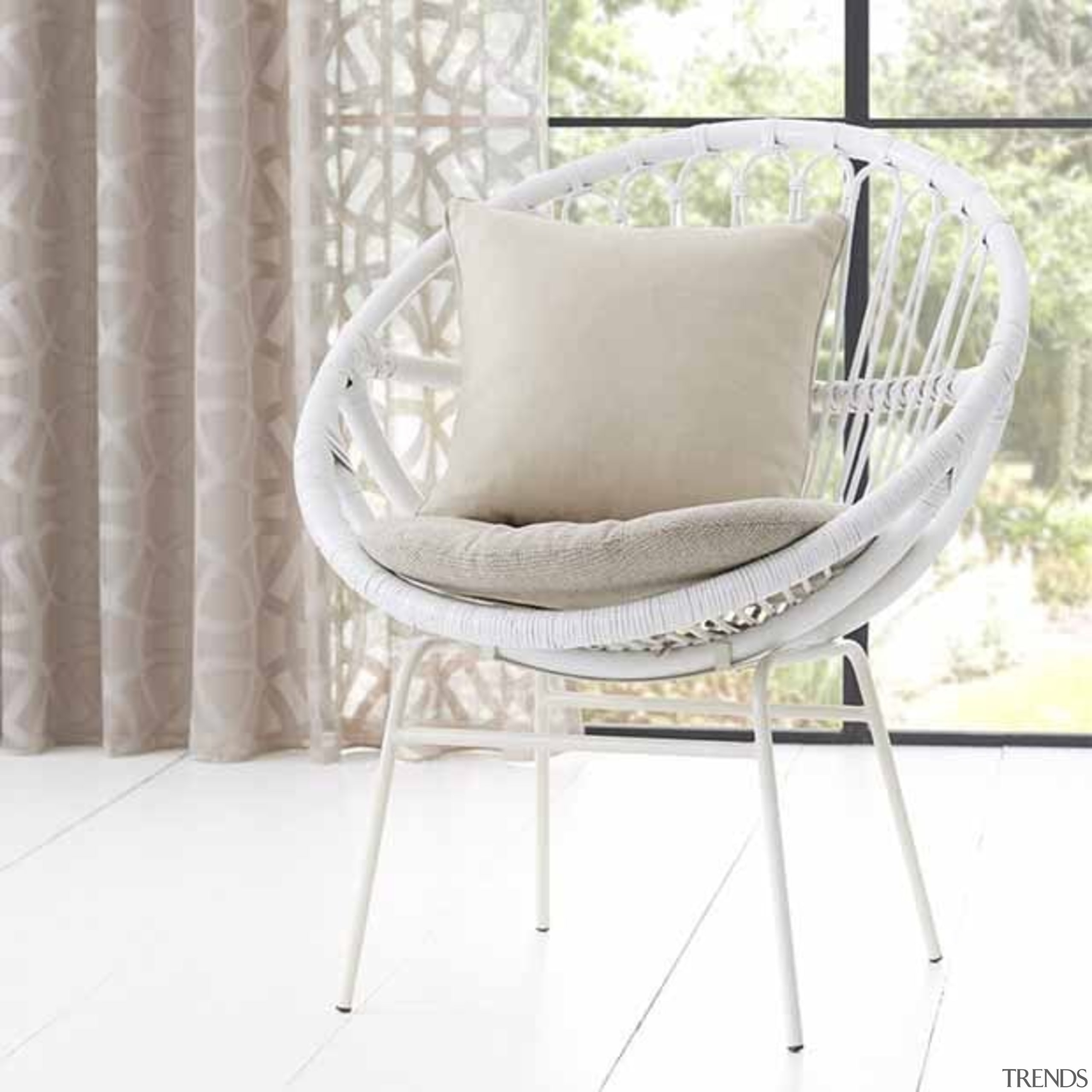 Jali 5 - bed frame | chair | bed frame, chair, cushion, furniture, product, white