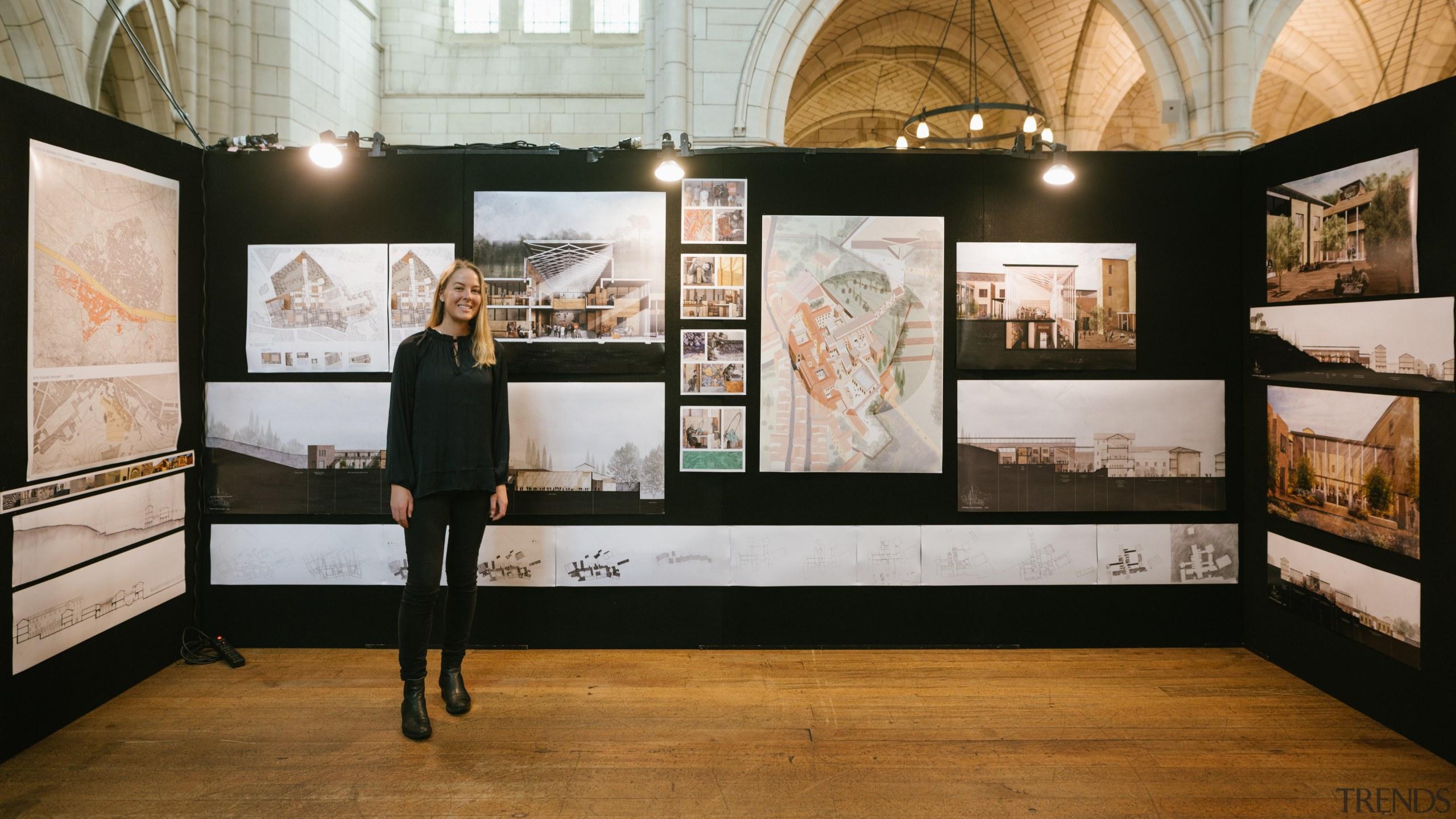 Emily Pearce – Victoria University Of Wellington – art exhibition, art gallery, collection, exhibition, museum, tourist attraction, black, gray