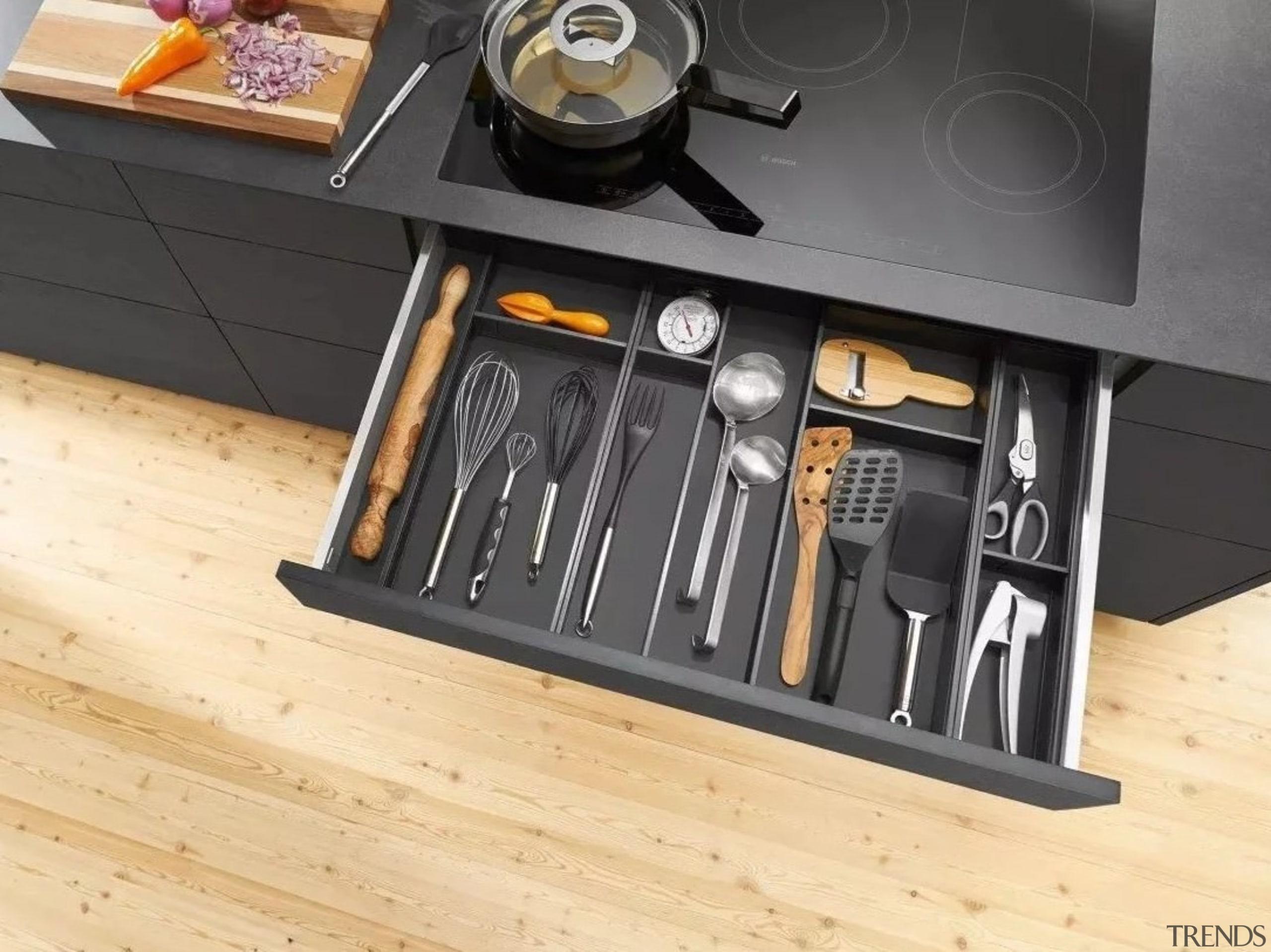 Image from: Blum New Zealand furniture, table, tool, orange, black