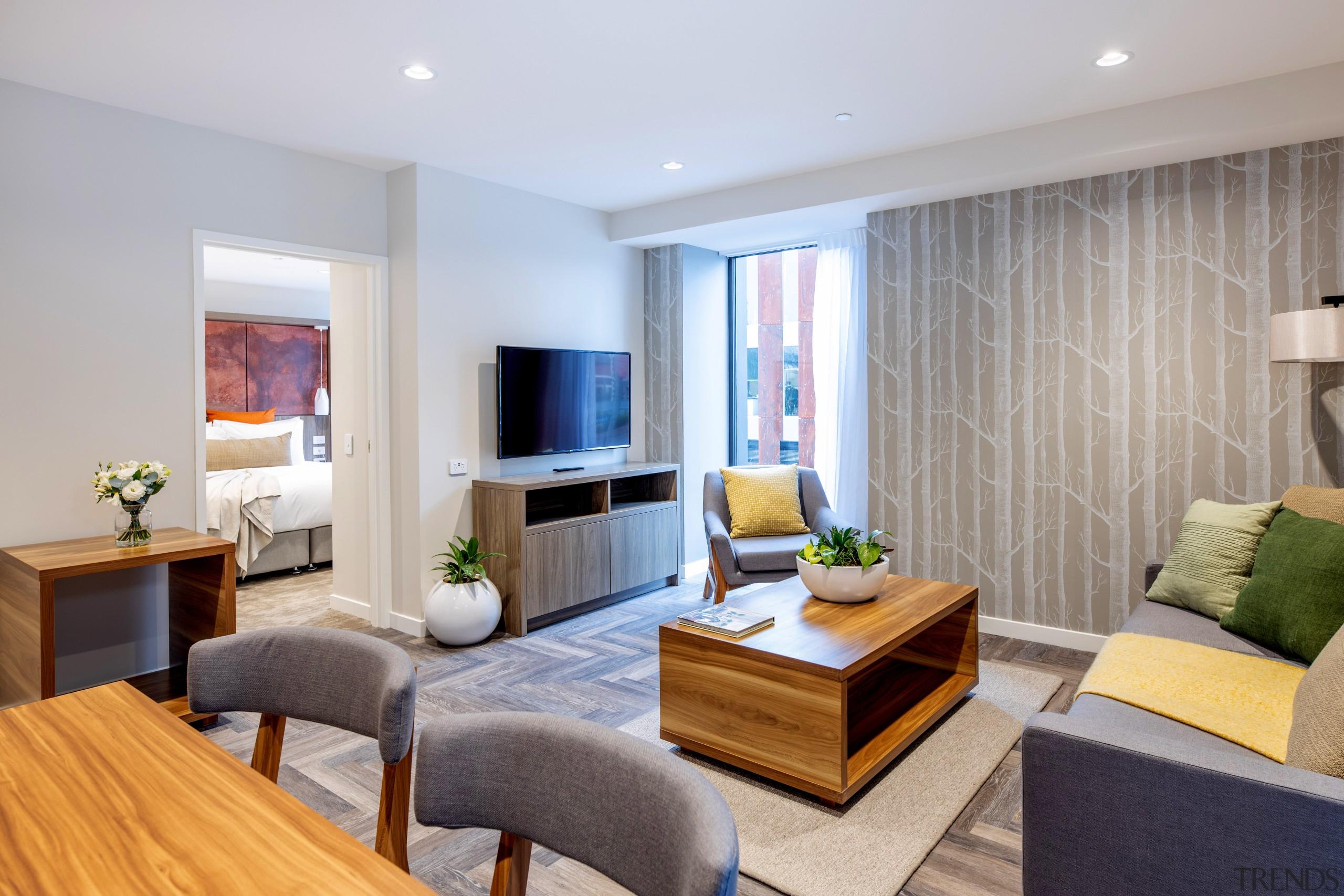 In this luxury suite at Sudima Christchurch City, Sudima Boutique Hotel, Luxury suite, Ignite Architects, Resene Paint