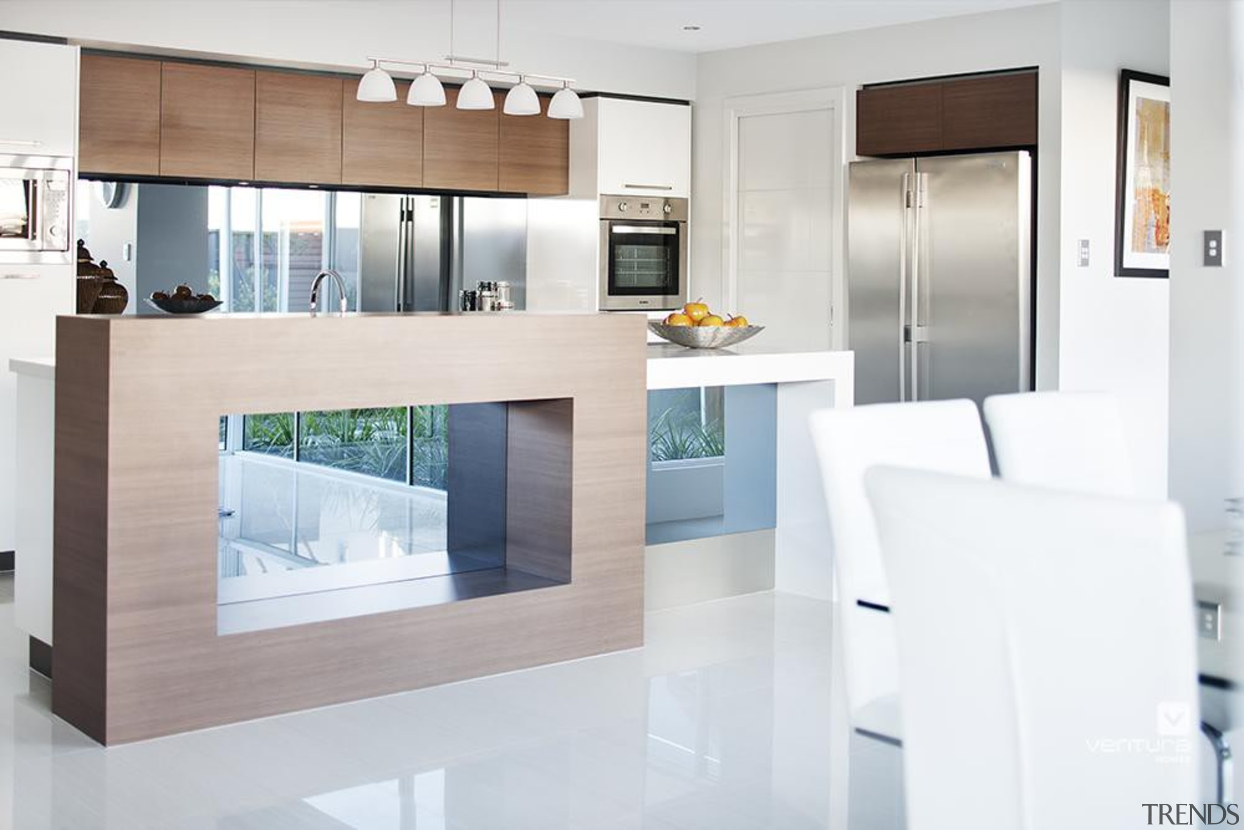 Kitchen design. - The Chianti Display Home - countertop, floor, interior design, kitchen, living room, product design, white