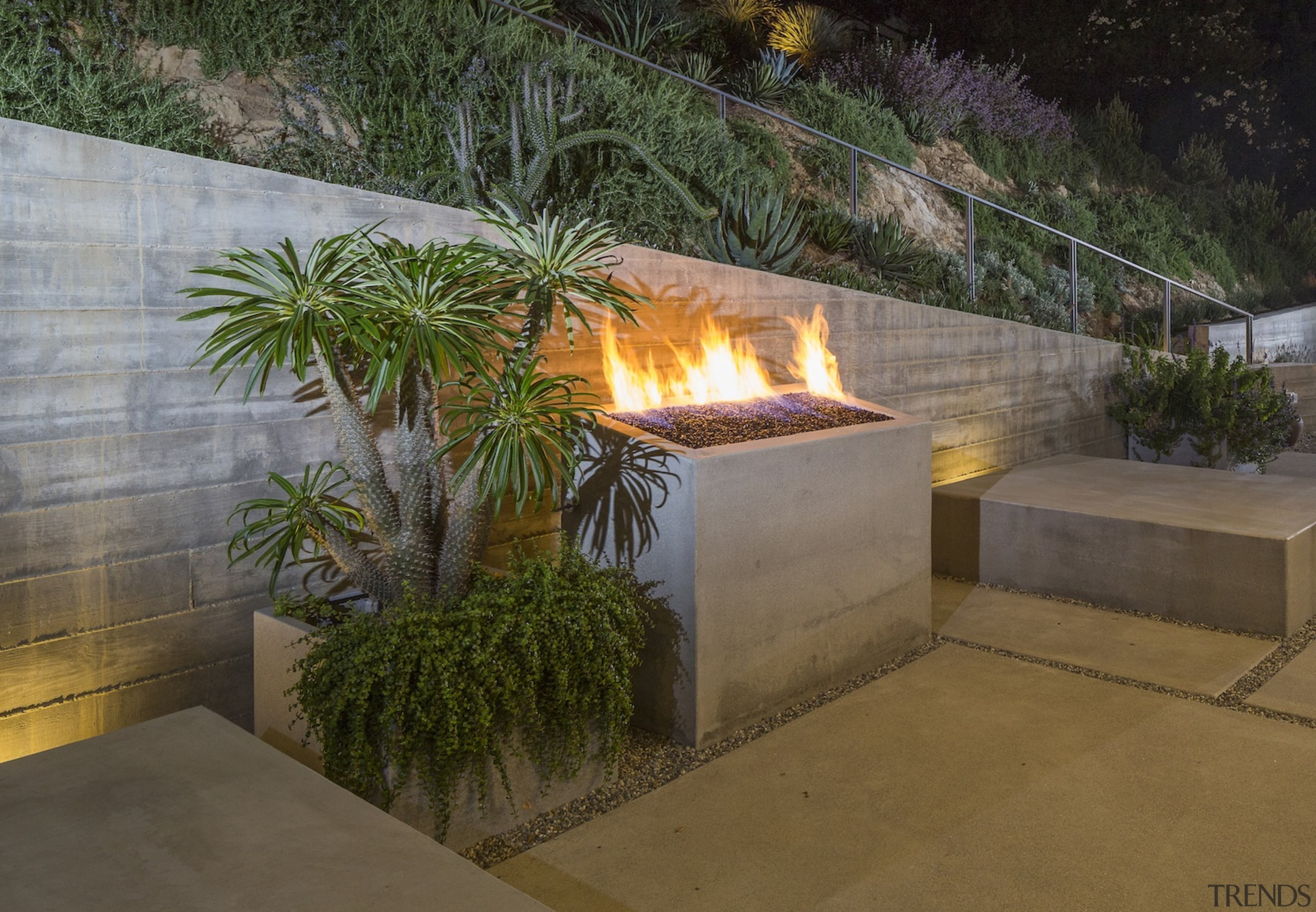 Anx View 59 - landscape | landscaping | landscape, landscaping, lighting, outdoor structure, brown, gray
