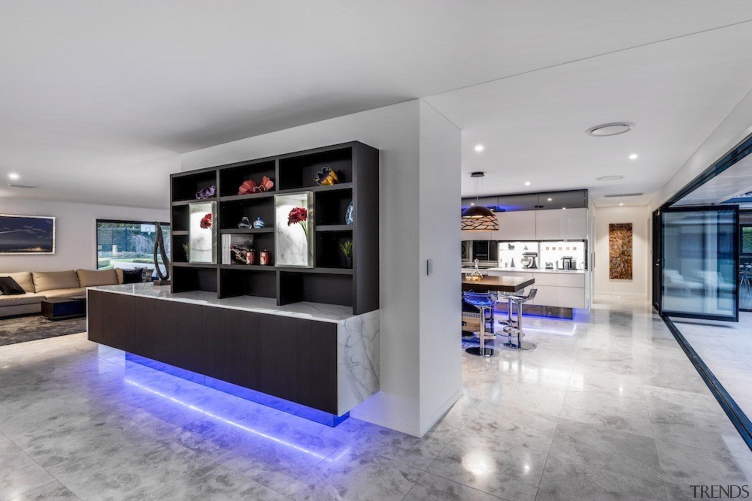 A focus on lighting – Kitchen by designer interior design, lobby, real estate, gray