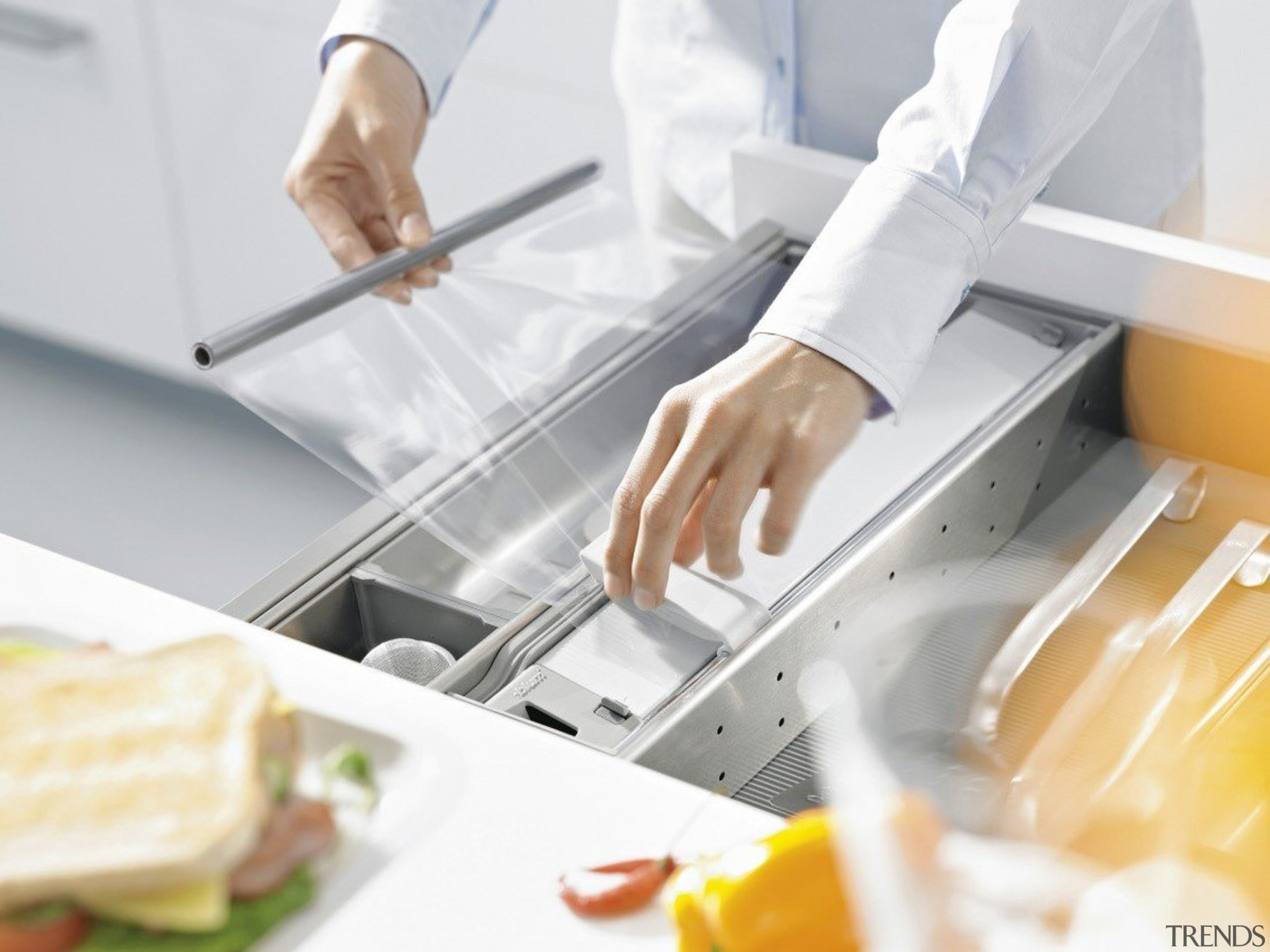 ORGA-LINE kitchen accessories – so many practical advantages. cook, cuisine, food, product, product design, service, white
