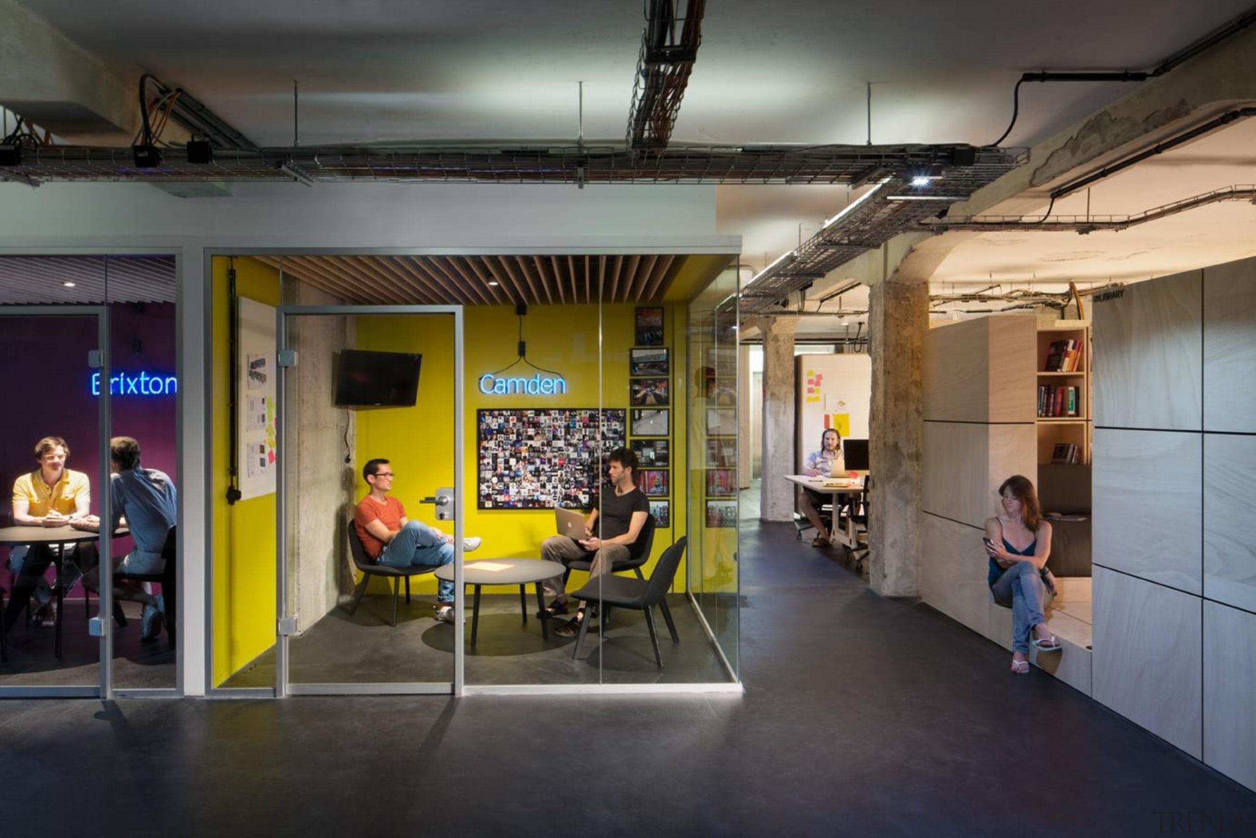 Online audio platform SoundCloud has been one of architecture, institution, interior design, tourist attraction, black, gray