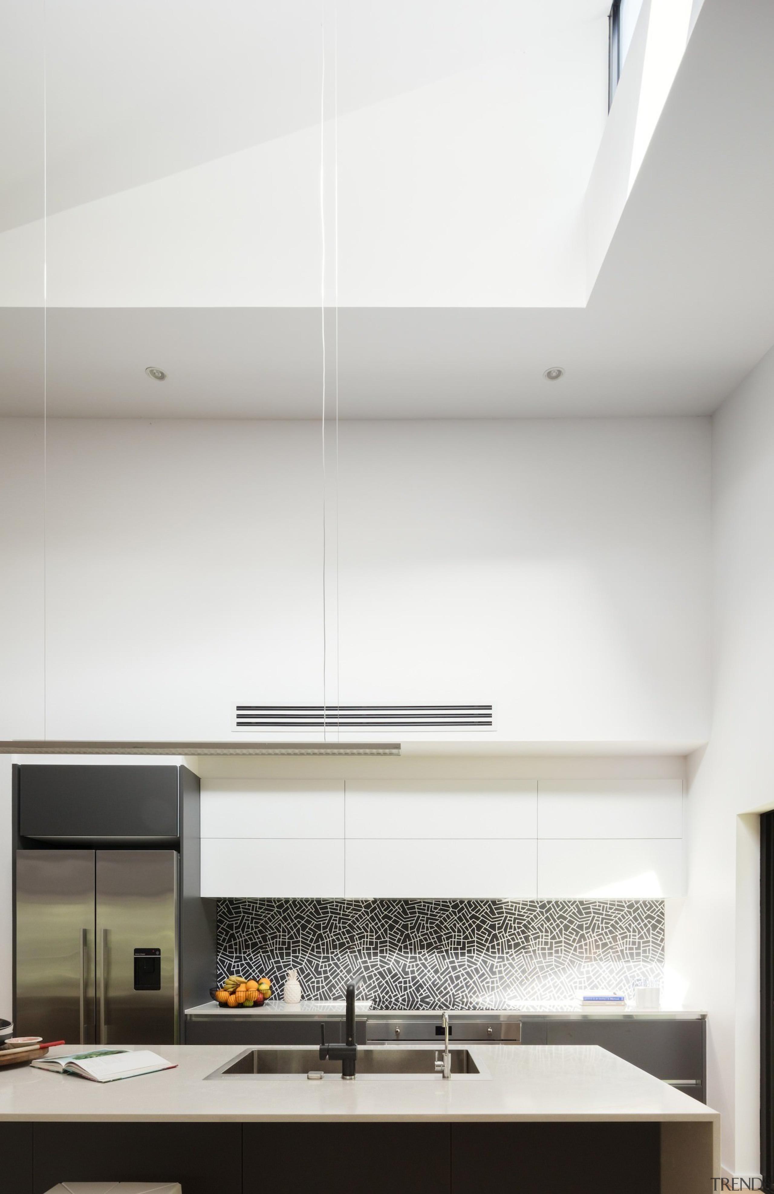 Bijl Architecture architecture, ceiling, daylighting, house, interior design, kitchen, light fixture, lighting, product design, white