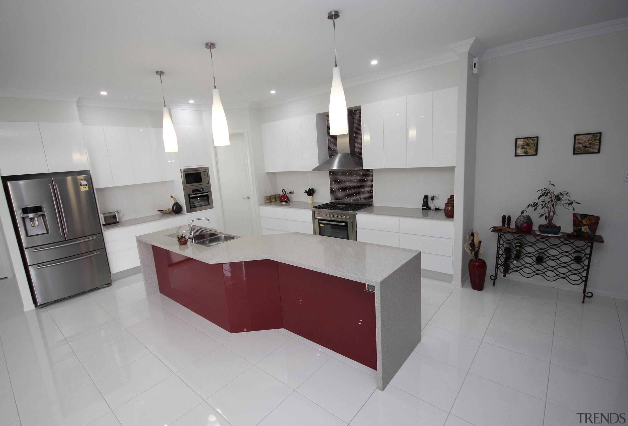 Winner Kitchen of the Year 2013 North Queensland countertop, floor, interior design, kitchen, property, real estate, room, gray