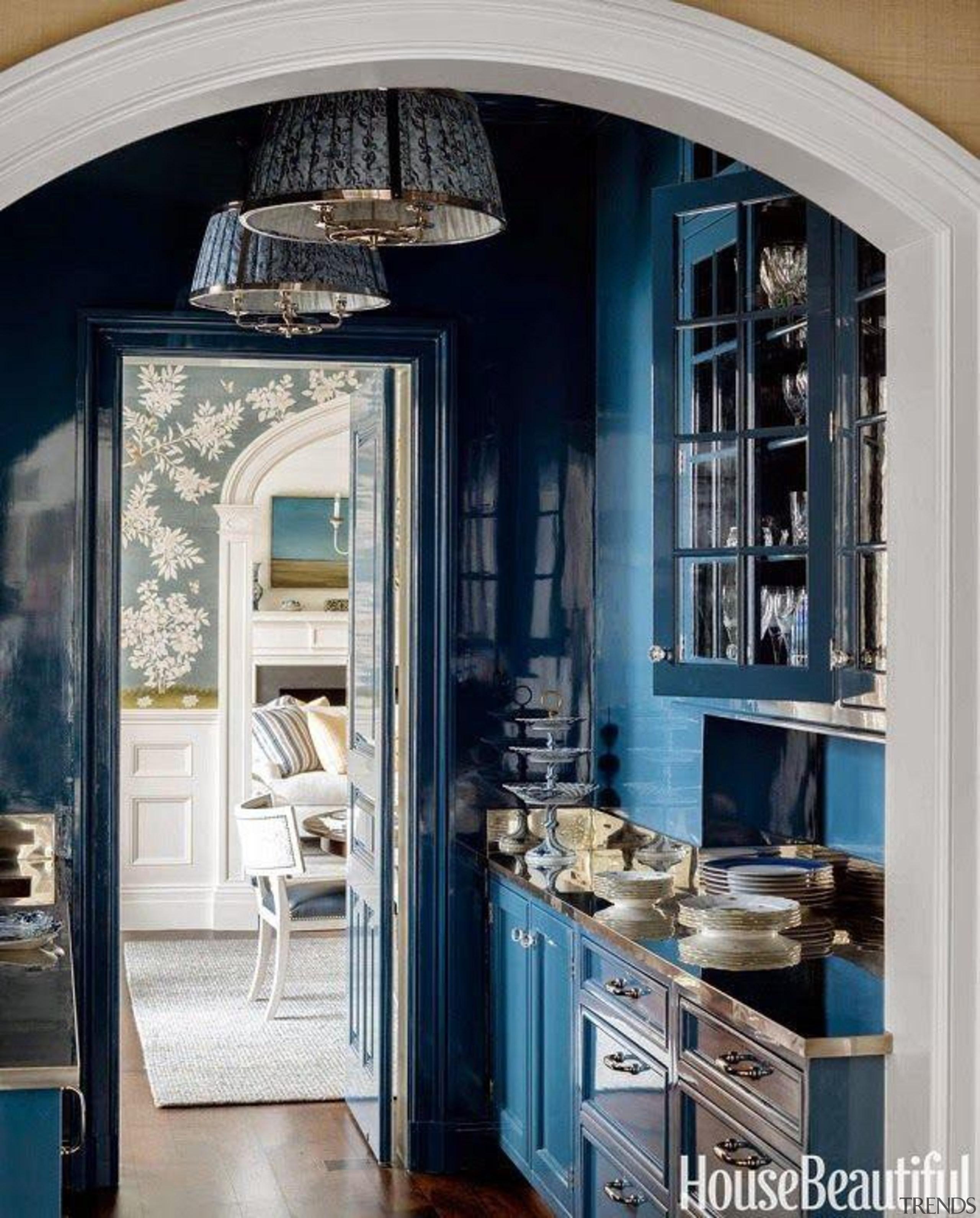 Cerulean Blue - Kitchen! - Cerulean Blue - home, interior design, room, window, gray, black