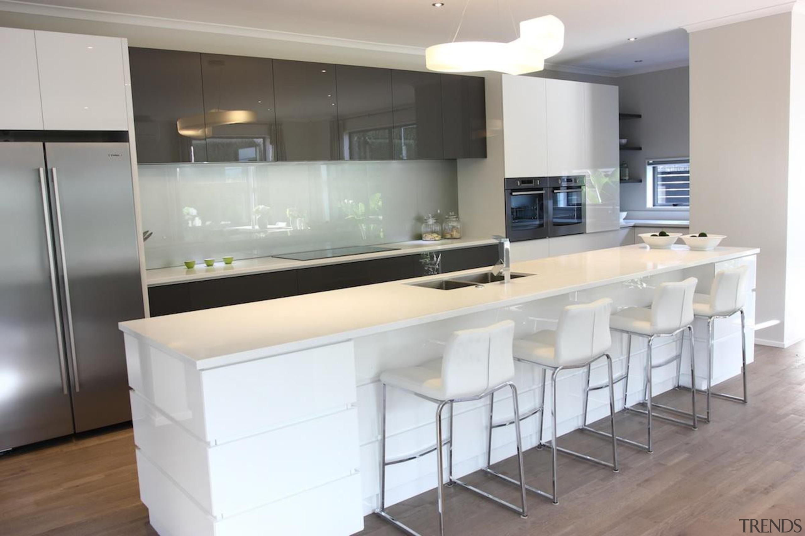 Sage Doors has been manufacturing quality roller doors cabinetry, countertop, cuisine classique, interior design, kitchen, real estate, gray