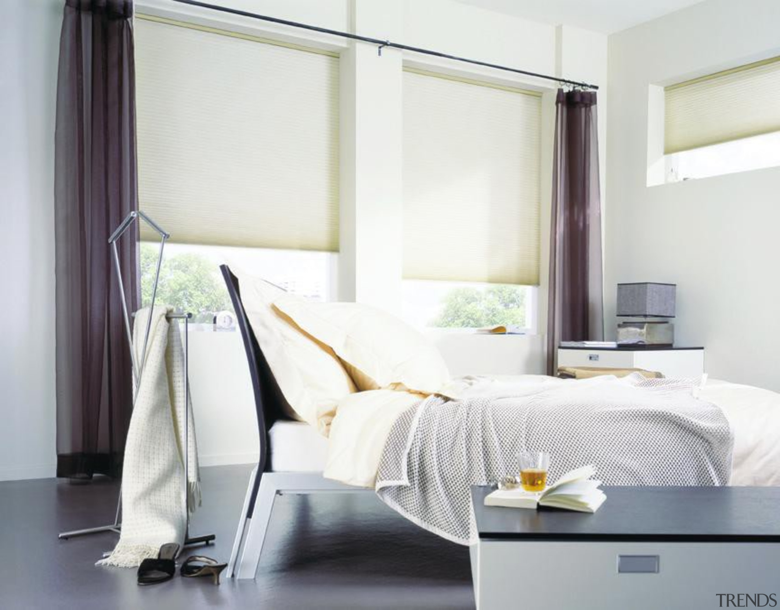 luxaflex duette shades - luxaflex duette shades - bed, bed frame, bed sheet, bedroom, curtain, four poster, furniture, home, interior design, mattress, room, shade, textile, window, window blind, window covering, window treatment, white