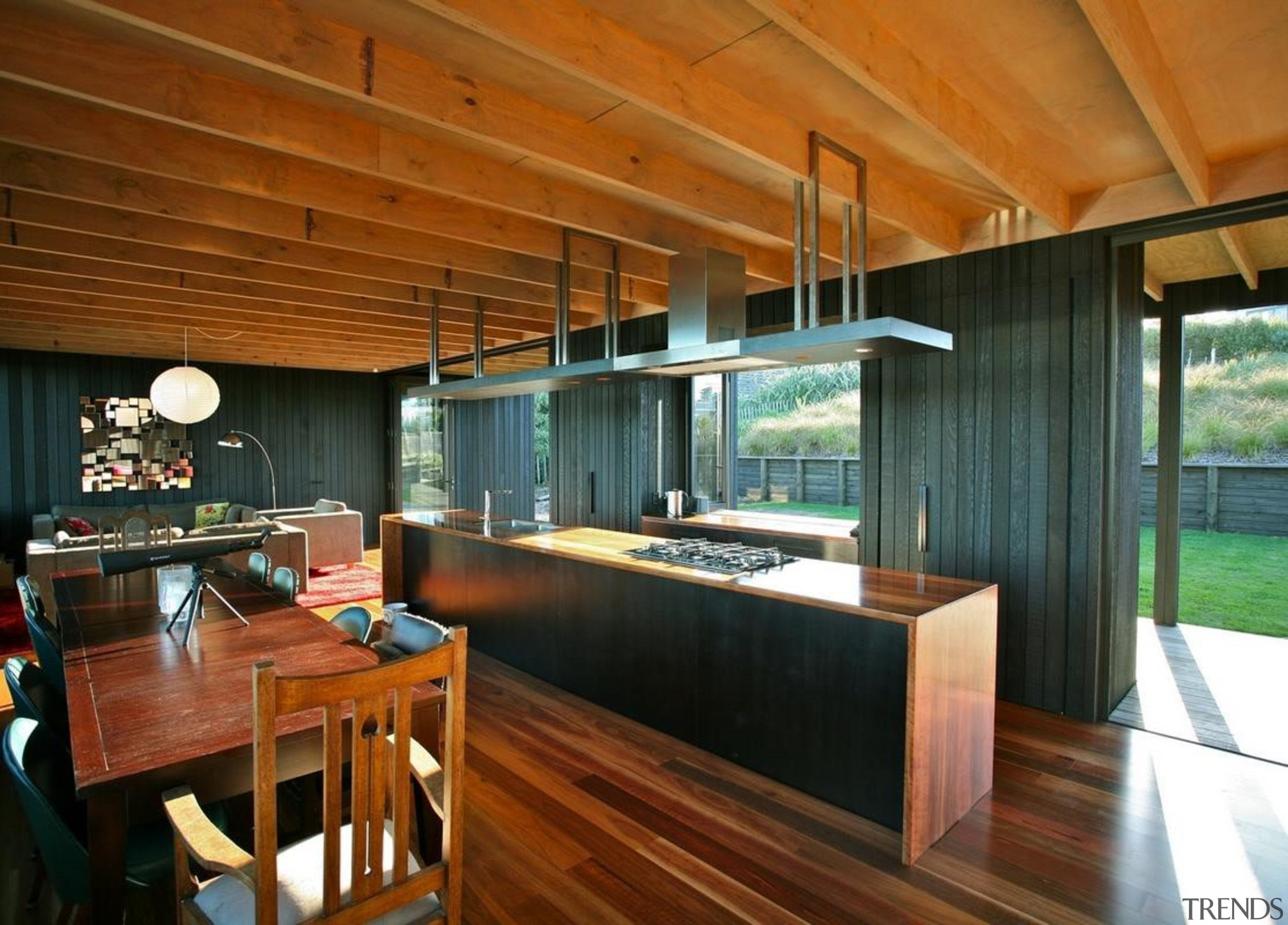 Leigh Bach - architecture   house   interior architecture, house, interior design, real estate, wood, brown