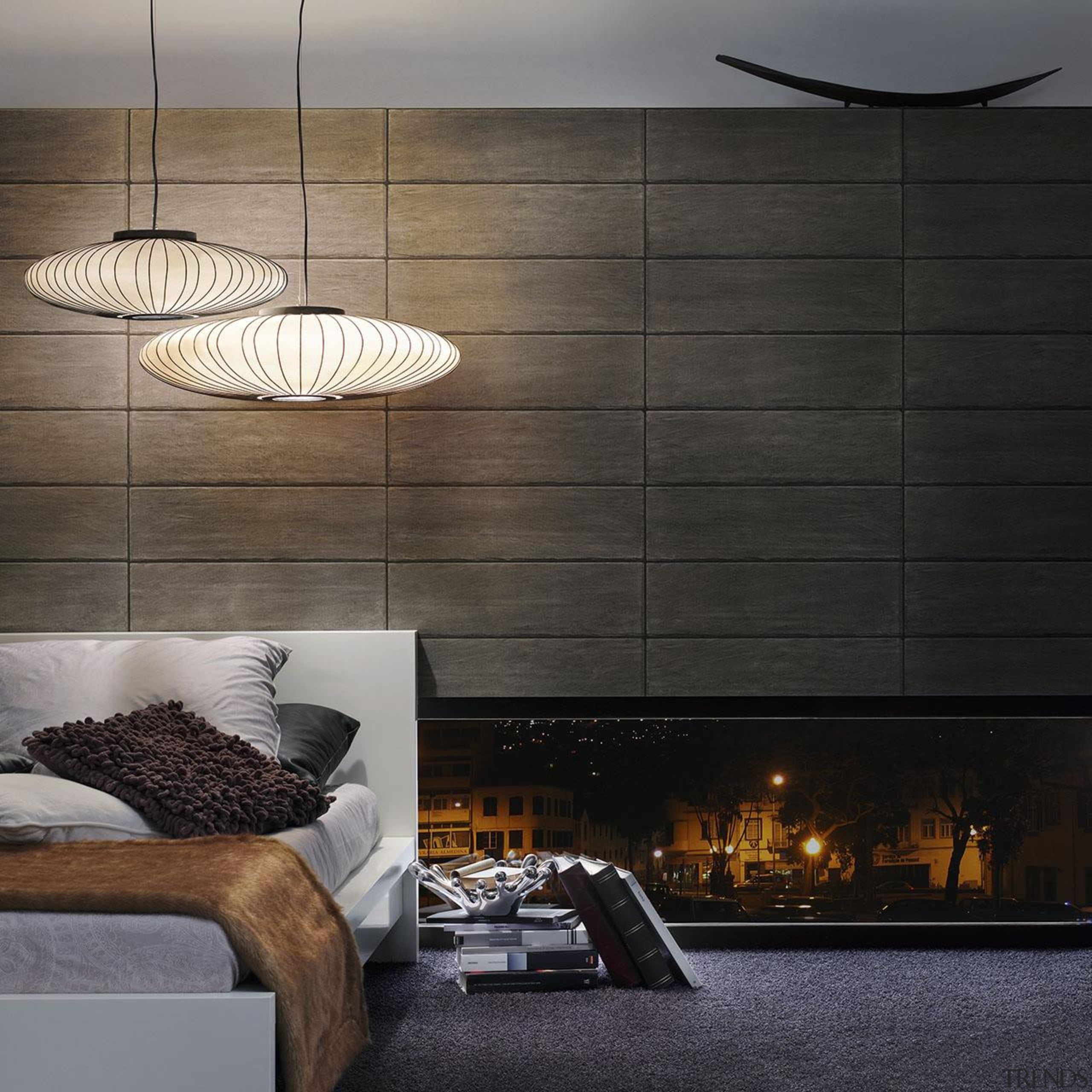 Modern Style Range - architecture | ceiling | architecture, ceiling, floor, interior design, lamp, lampshade, light fixture, lighting, lighting accessory, product design, wall, black, gray