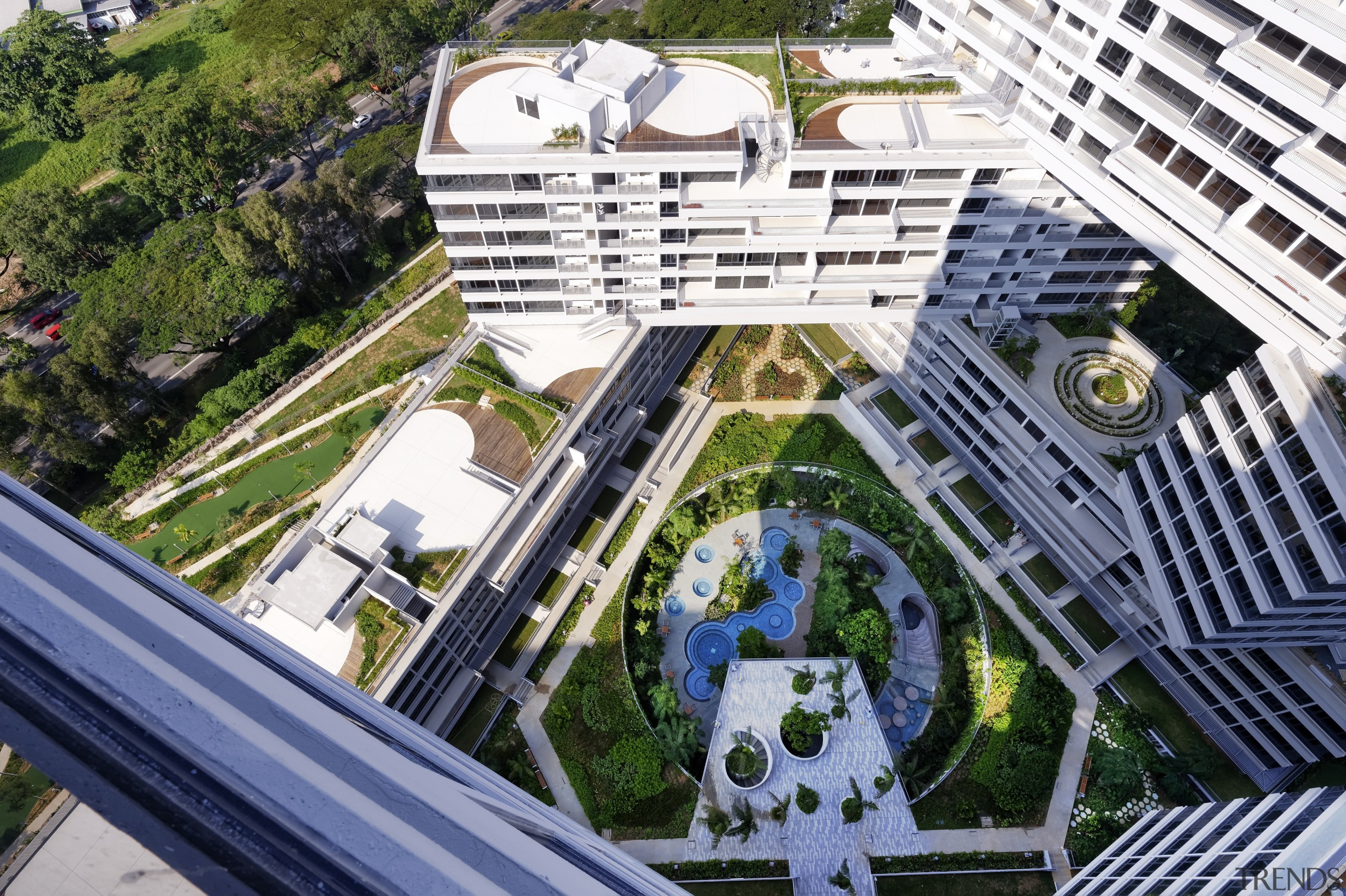 The buildings in The Interlace apartment complex wrap architecture, building, city, condominium, metropolis, metropolitan area, mixed use, neighbourhood, real estate, residential area, urban area, urban design