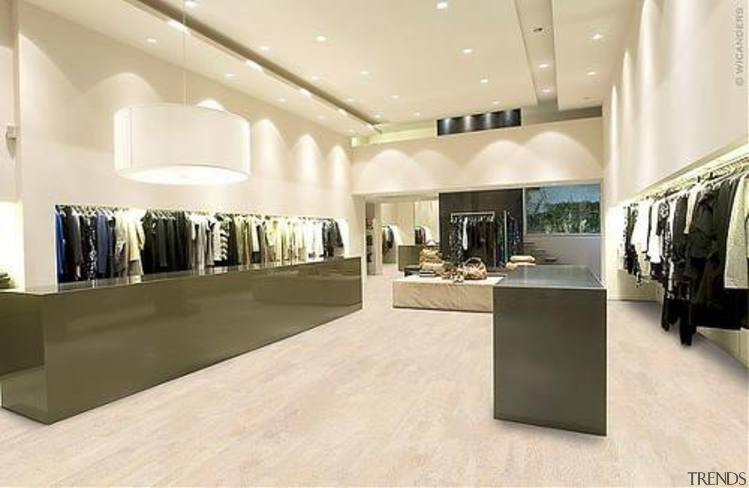 Cork Comfort - Identity Moonlight - Cork Comfort boutique, ceiling, exhibition, floor, flooring, interior design, retail, orange